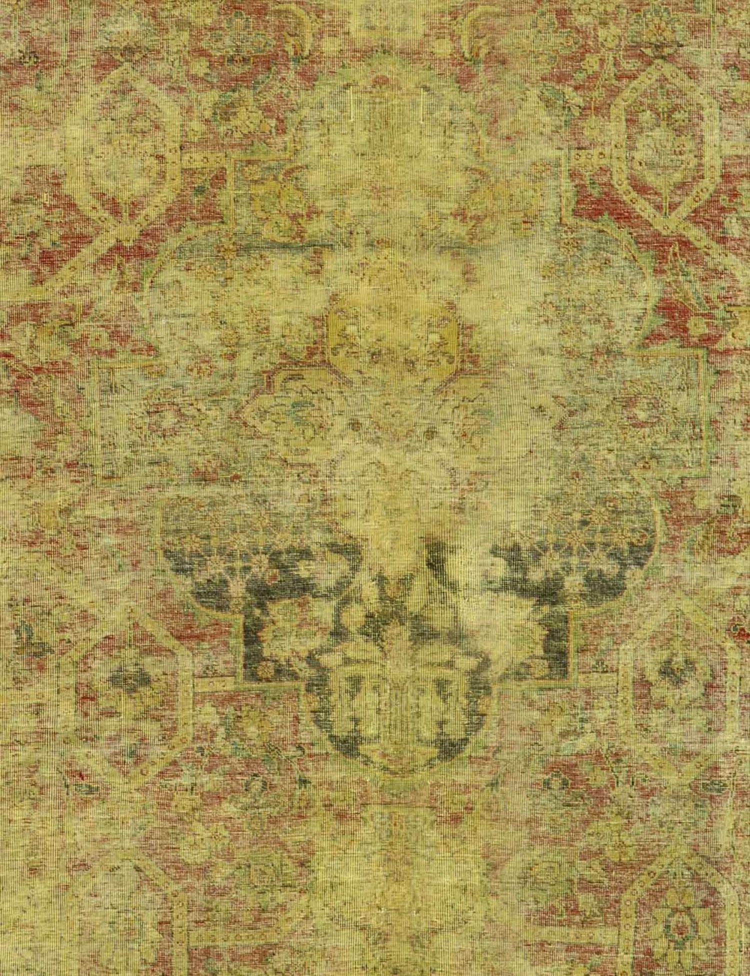 Vintage Teppich  gelb <br/>210 x 210 cm