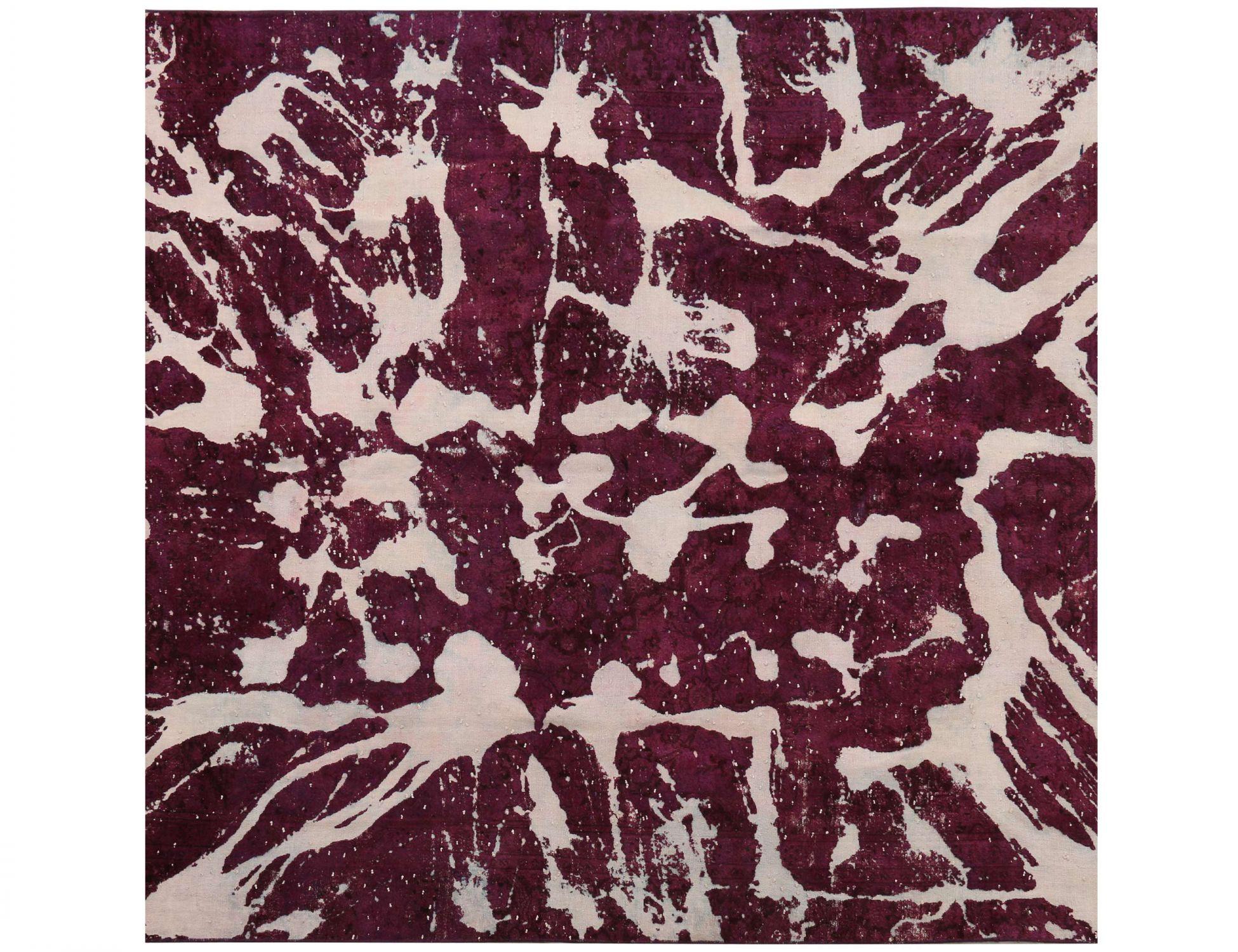 Vintage Teppich  grau <br/>240 x 240 cm
