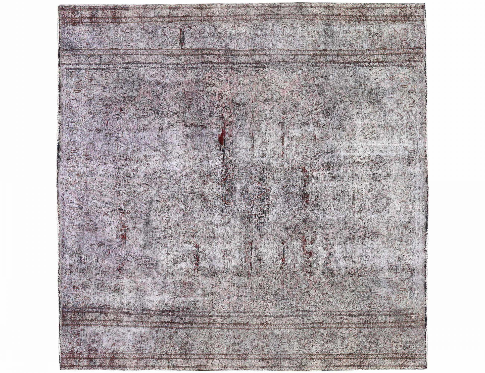 Vintage Teppich  beige <br/>287 x 287 cm