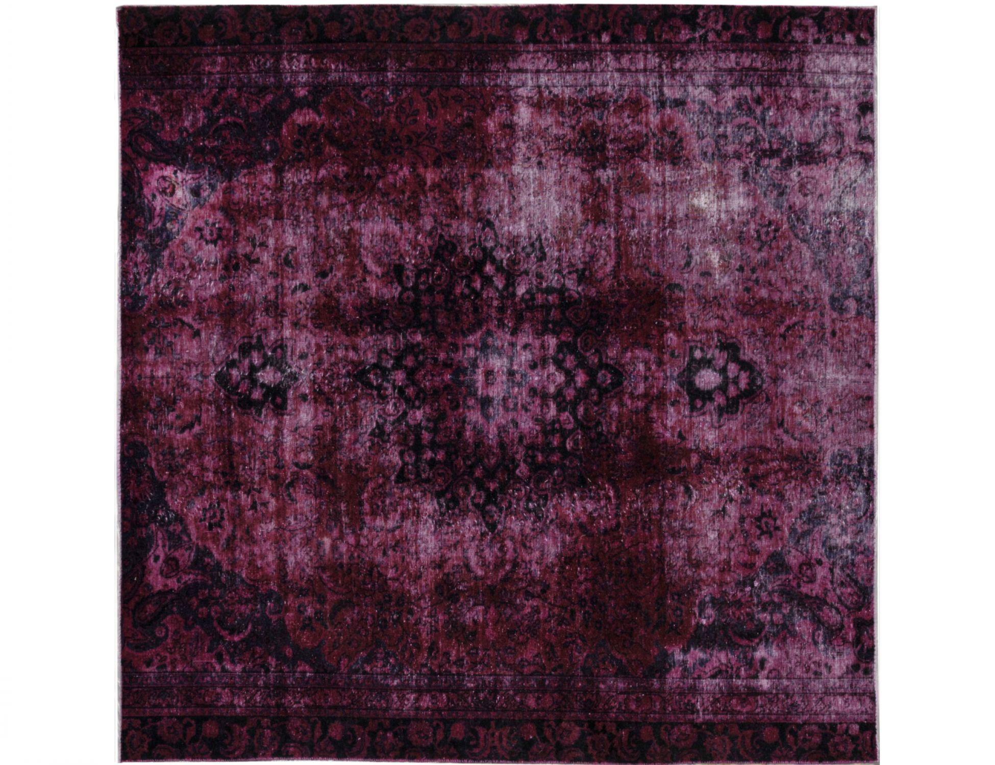 Vintage Teppich  lila <br/>247 x 247 cm