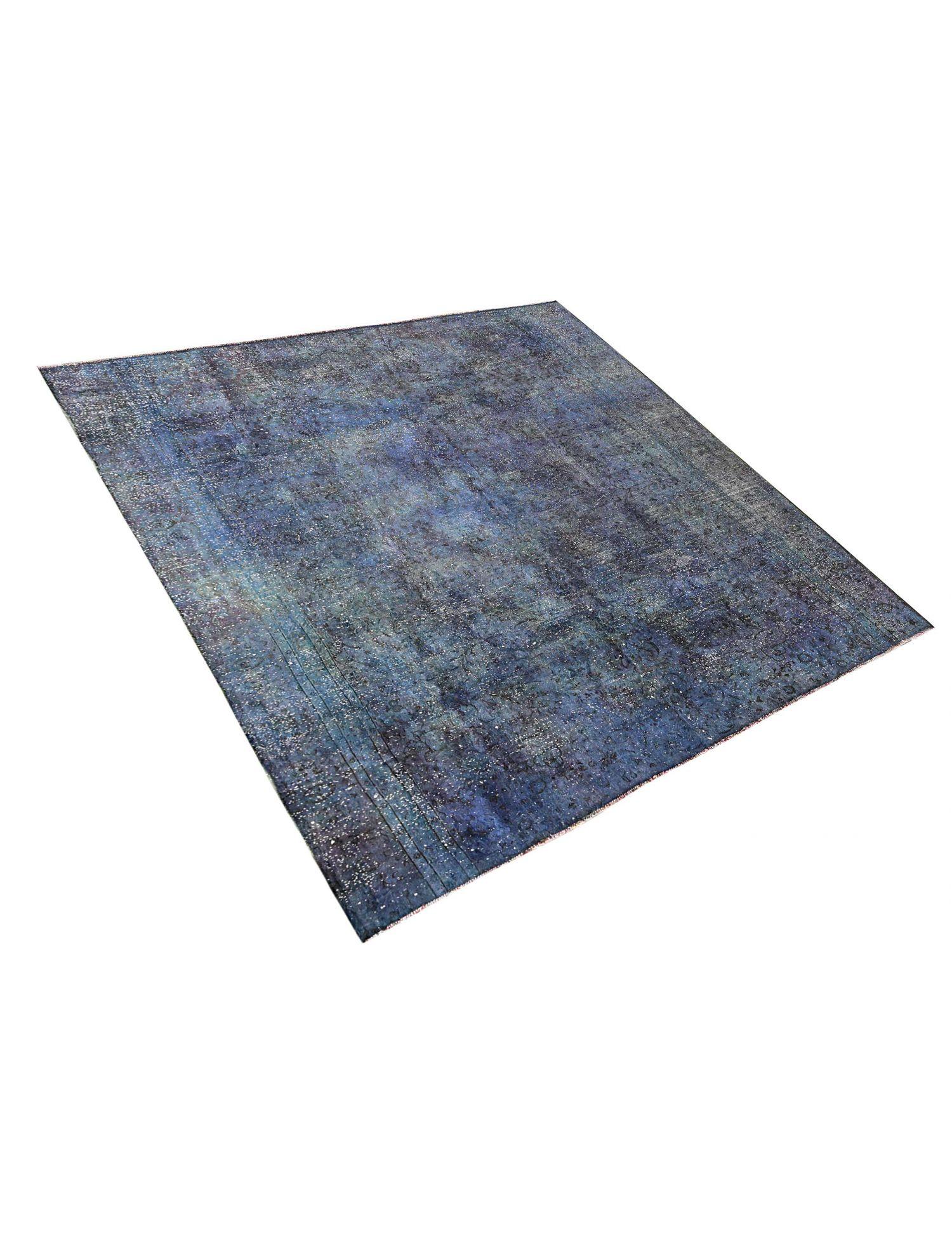 Vintage Teppich  blau <br/>265 x 265 cm