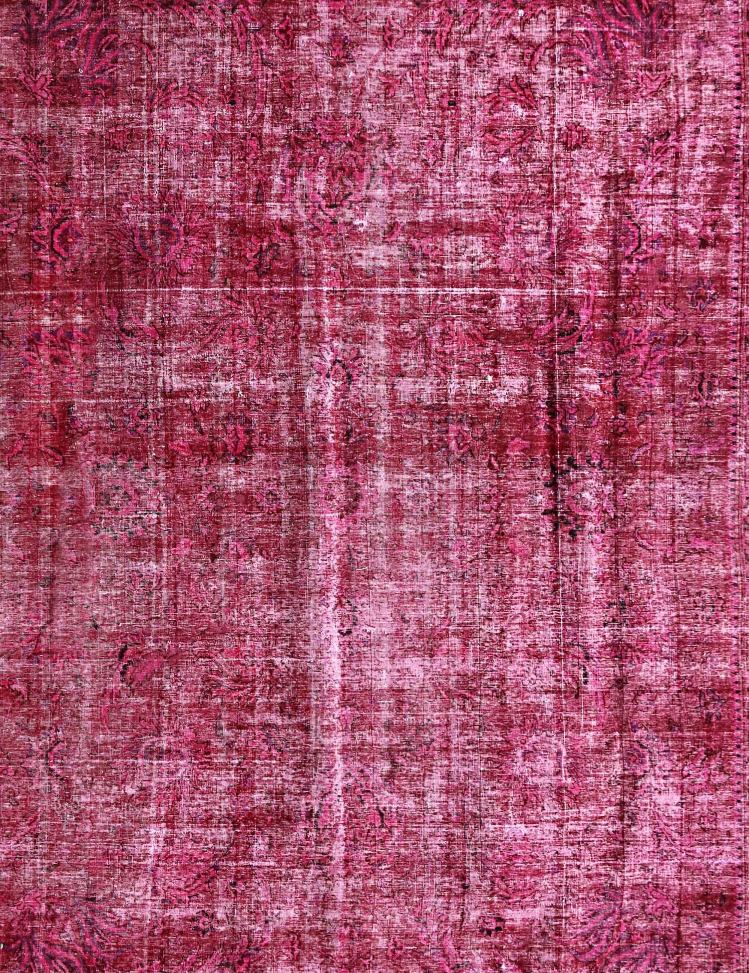 Vintage Teppich  rot <br/>287 x 287 cm