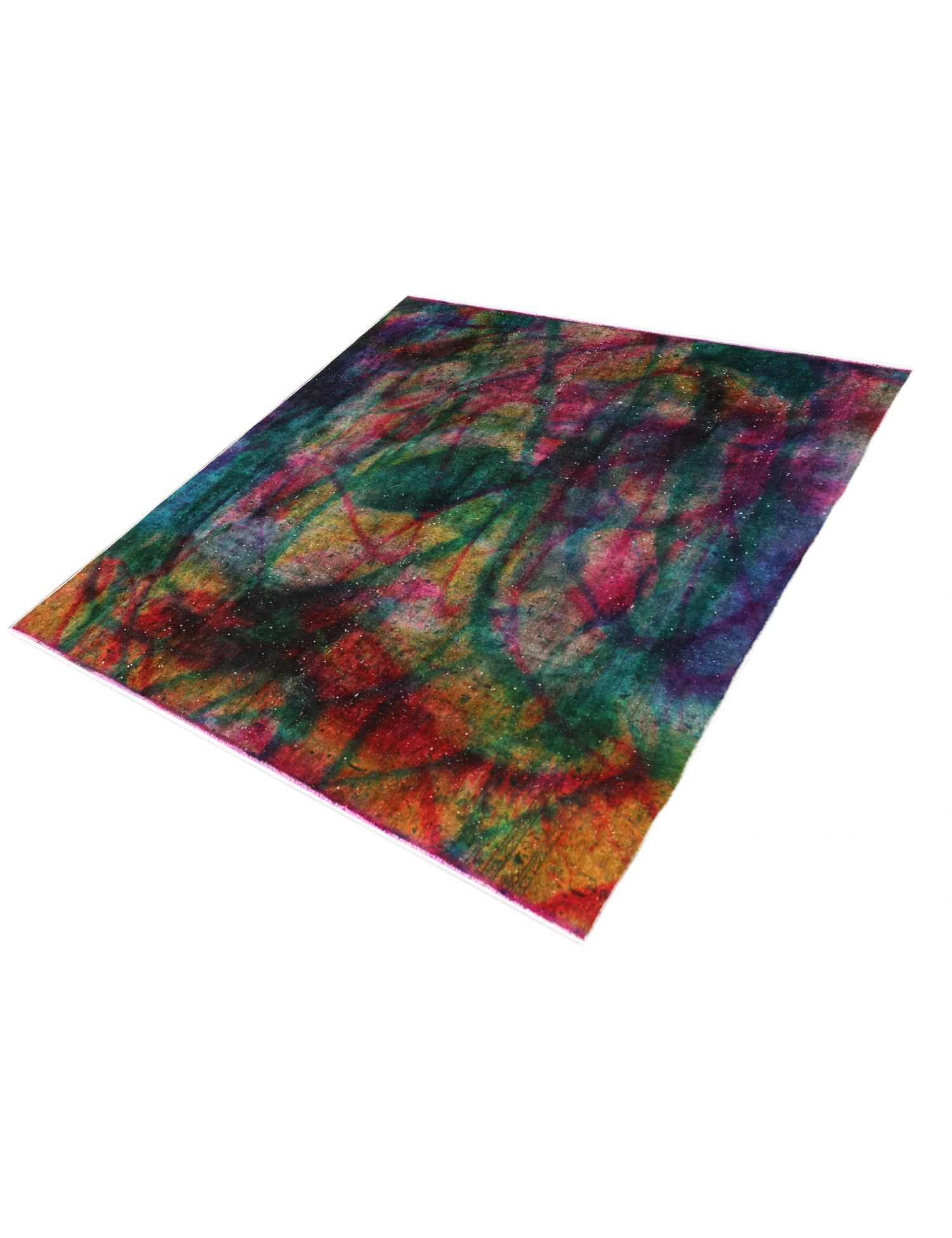 Vintage Teppich  mehrfarbig <br/>265 x 265 cm