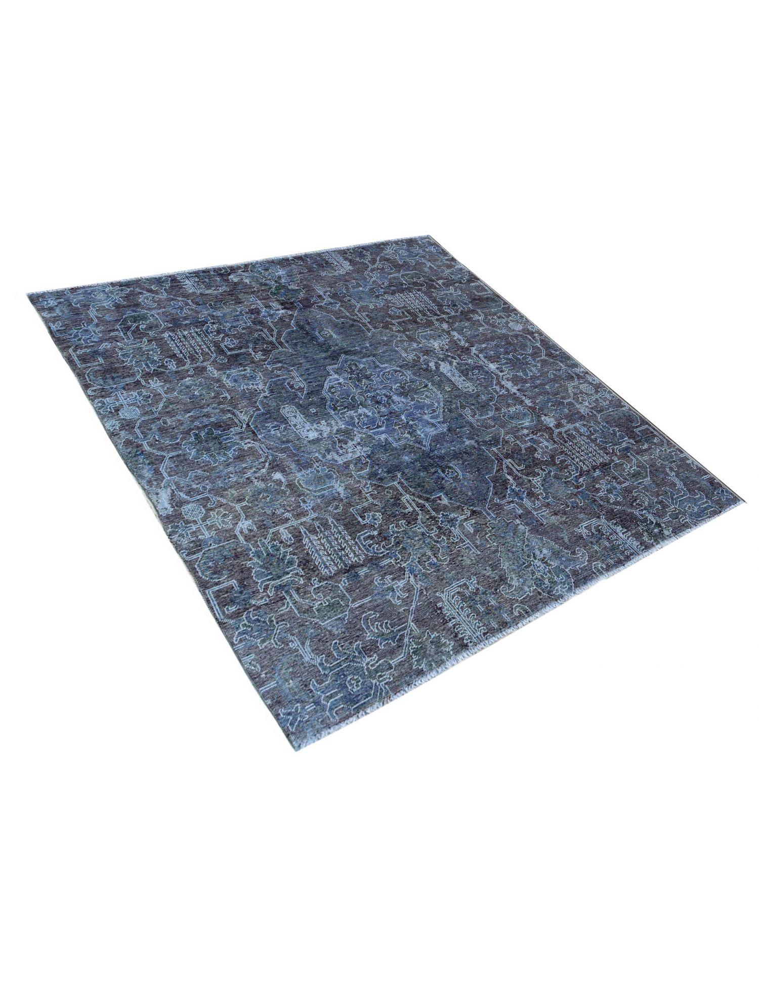 Tappeto Vintage  blu <br/>207 x 207 cm