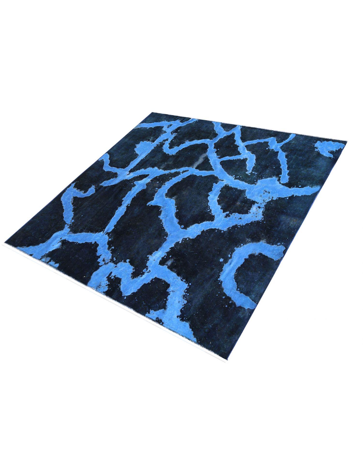 Vintage Teppich  blau <br/>302 x 302 cm