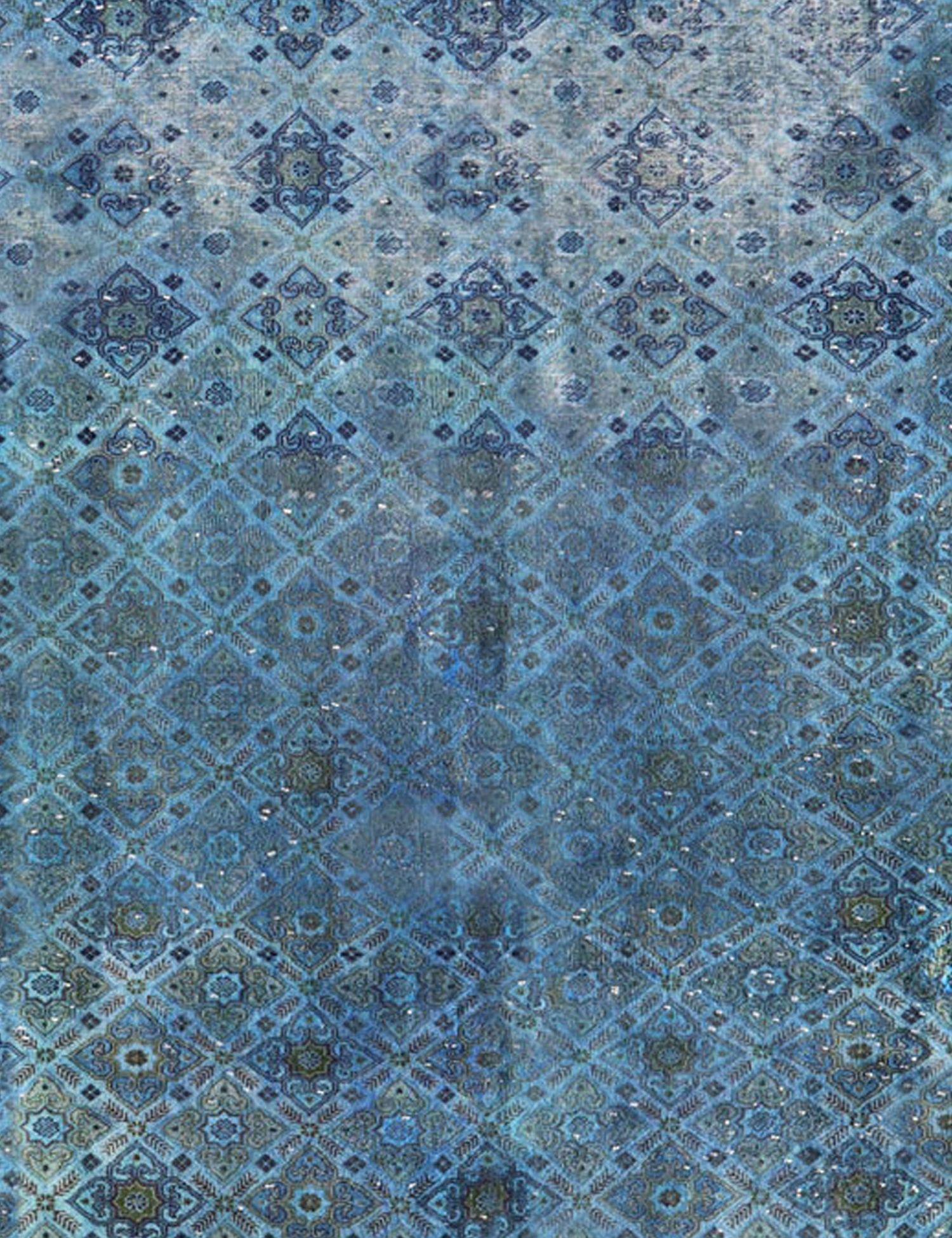 Vintage Teppich  blau <br/>248 x 248 cm