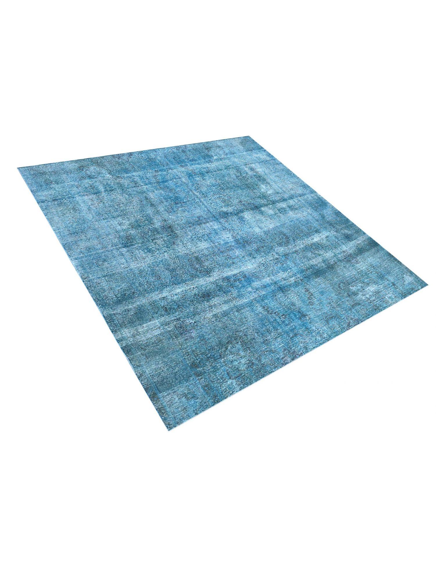 Vintage Teppich  blau <br/>281 x 281 cm