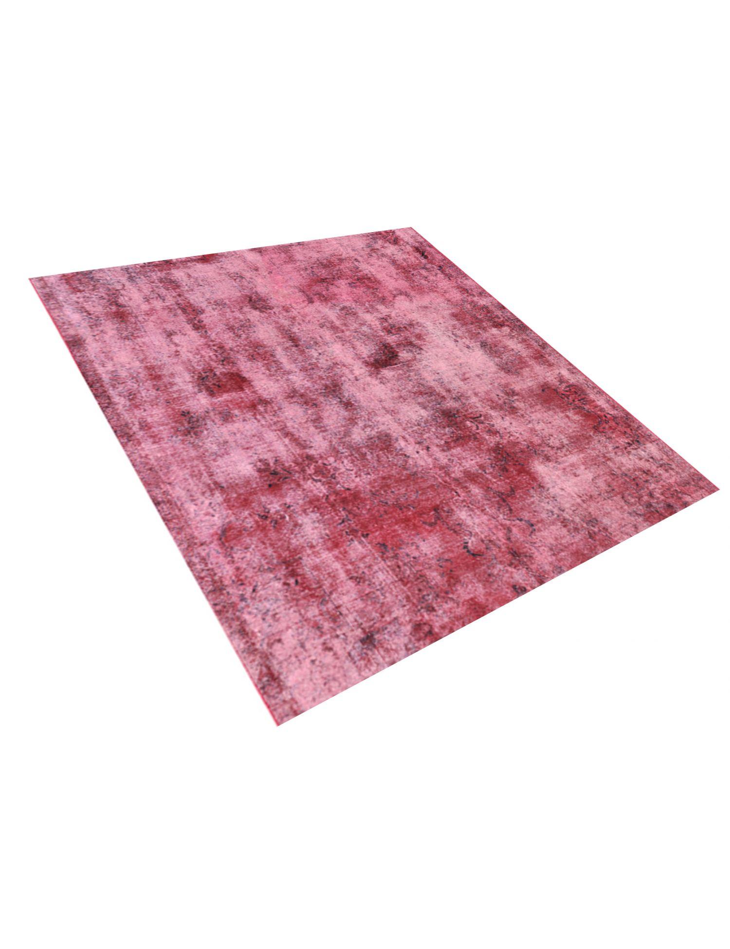 Vintage Teppich  rot <br/>230 x 230 cm