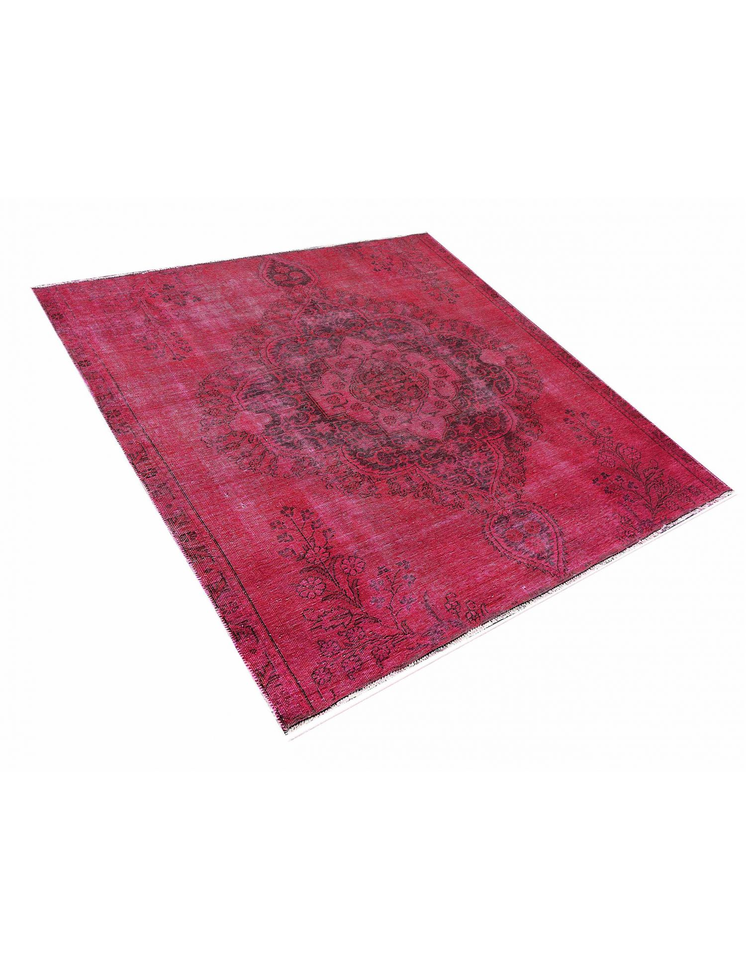 Vintage Teppich  rot <br/>226 x 226 cm