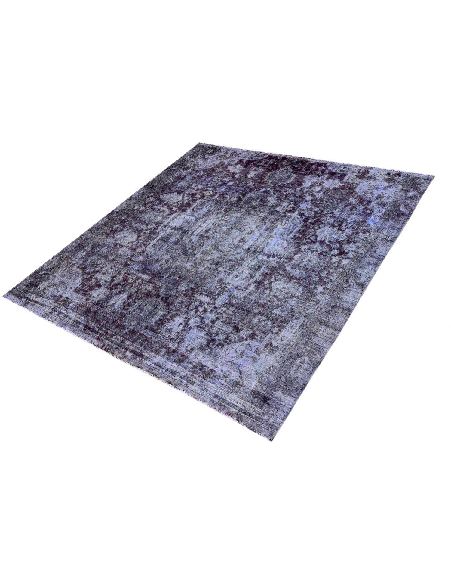 Tappeto Vintage  blu <br/>252 x 252 cm