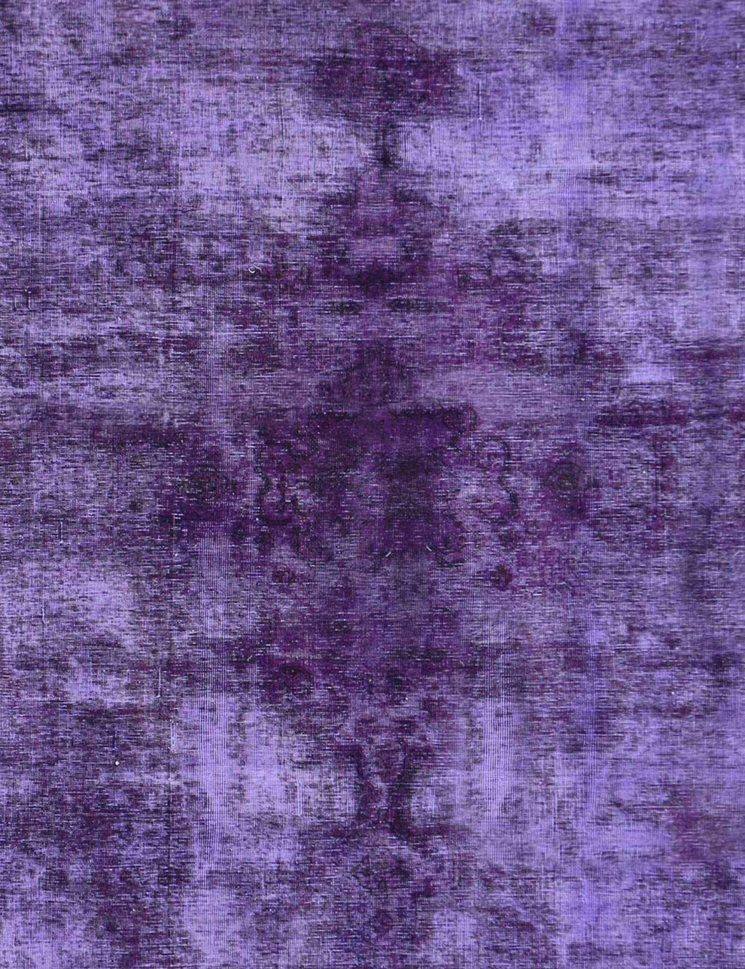 Tappeto Vintage  viola <br/>233 x 233 cm
