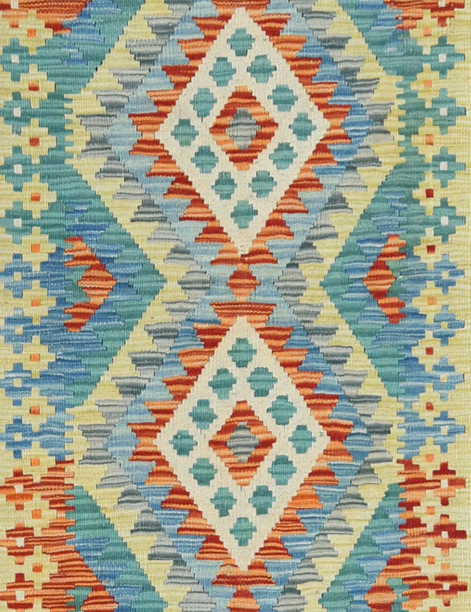KELIM  mehrfarbig <br/>186 x 64 cm