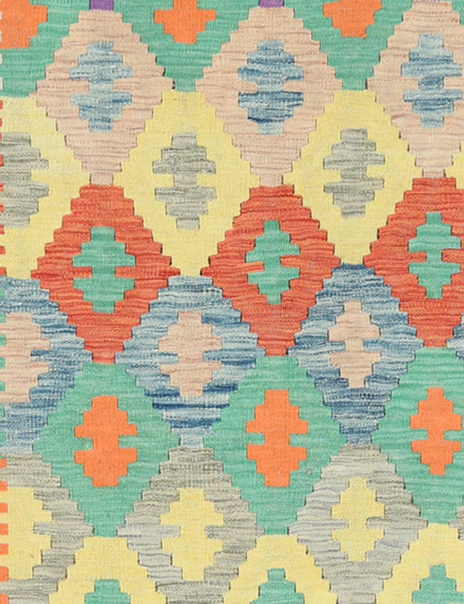 KELIM  mehrfarbig <br/>289 x 87 cm