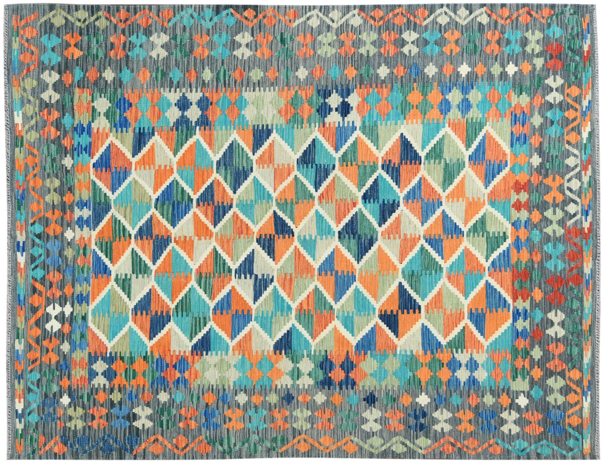 KELIM  mehrfarbig <br/>301 x 201 cm