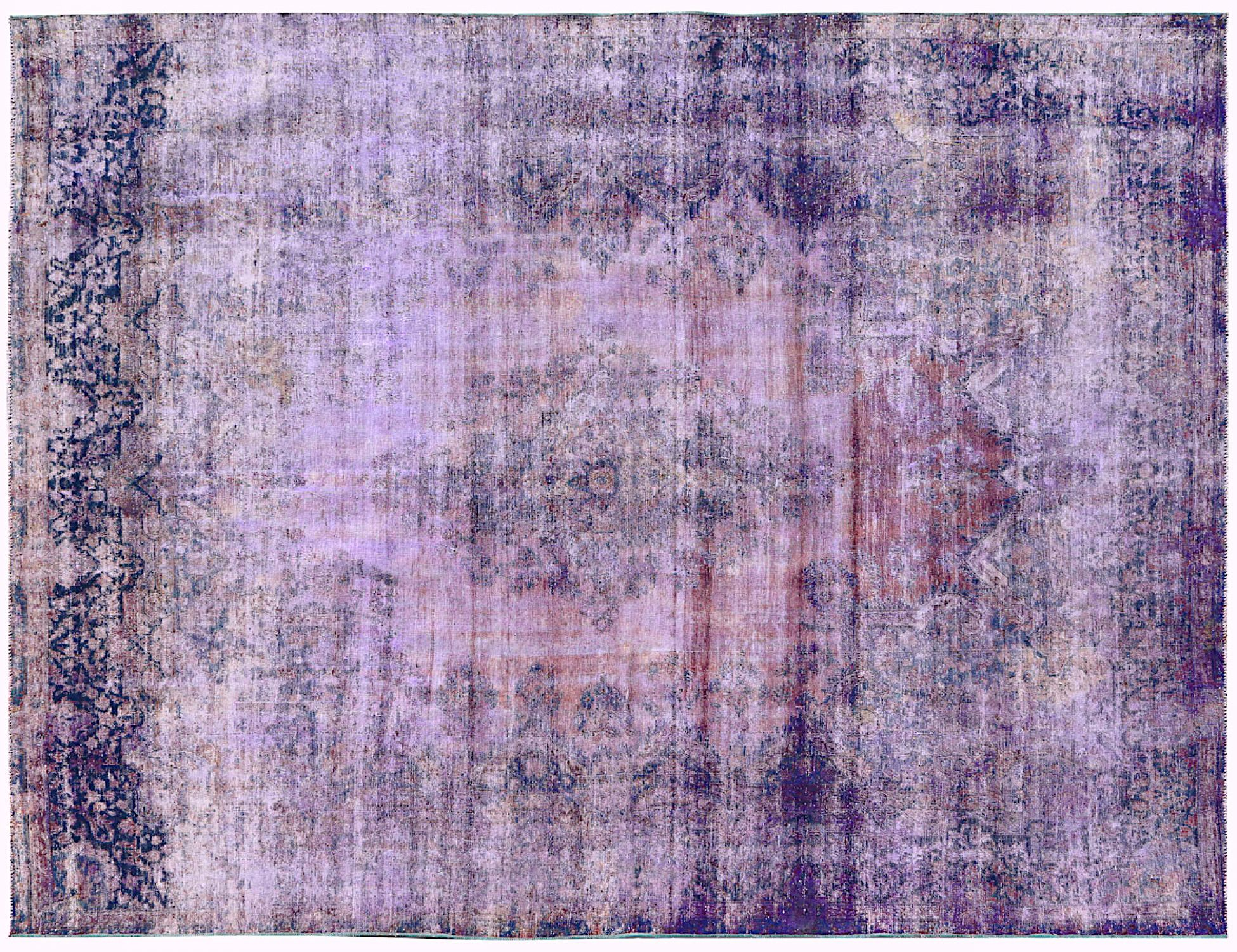 Tappeto Vintage  viola <br/>360 x 281 cm