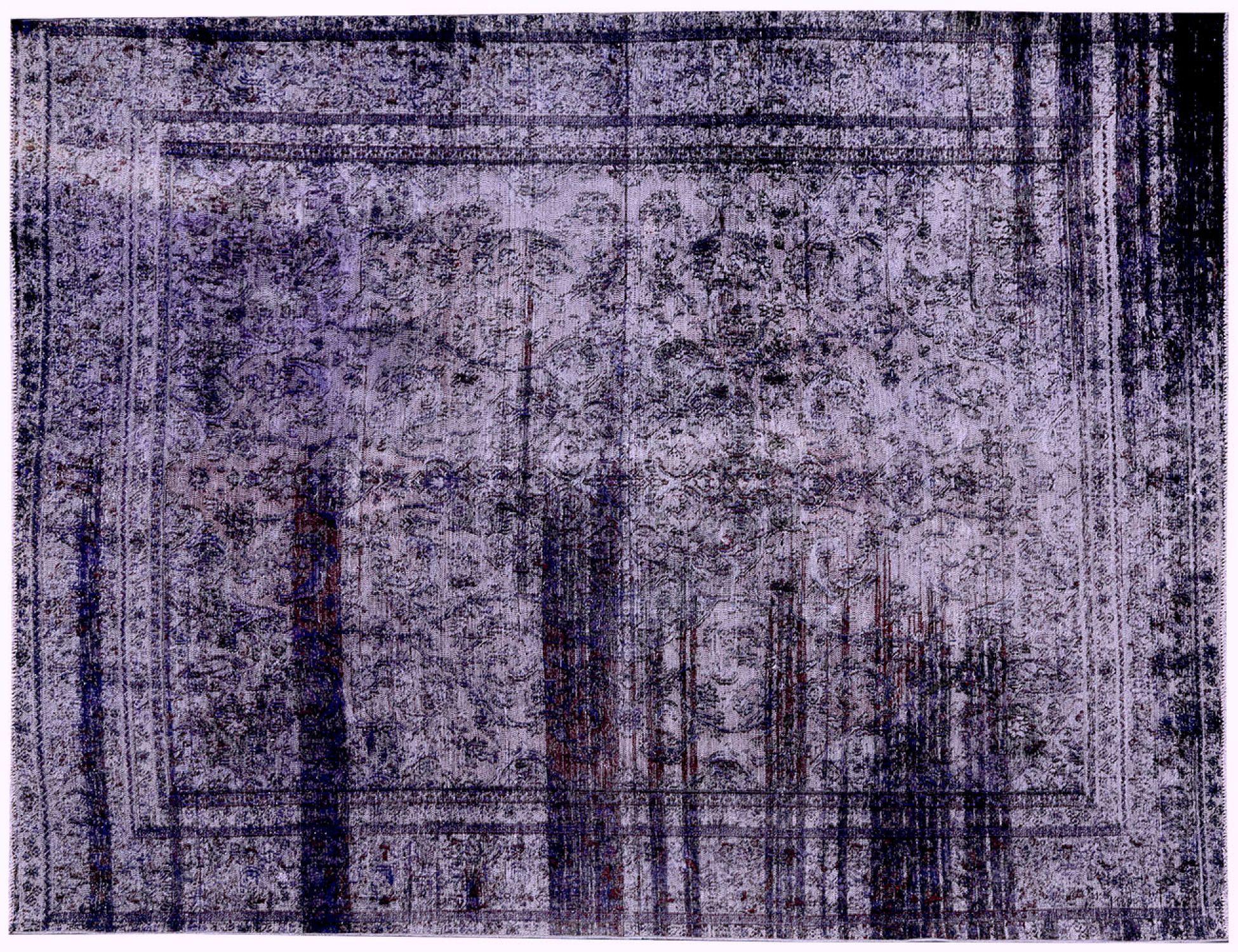 Tappeto Vintage  blu <br/>367 x 275 cm
