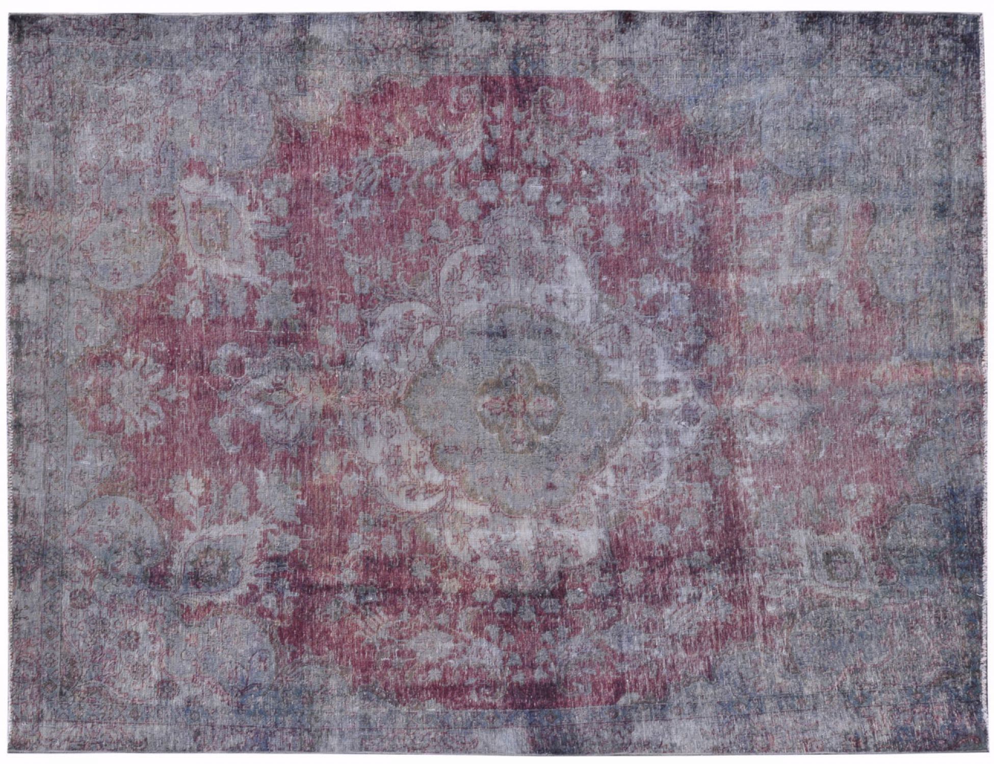 Tappeto Vintage  grigio <br/>345 x 268 cm