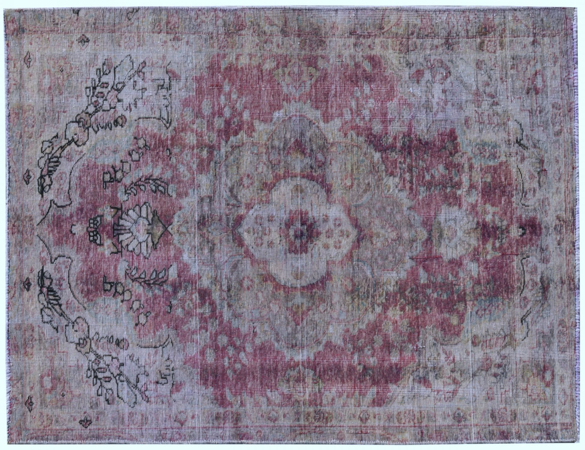 Vintage Carpet  red <br/>240 x 155 cm