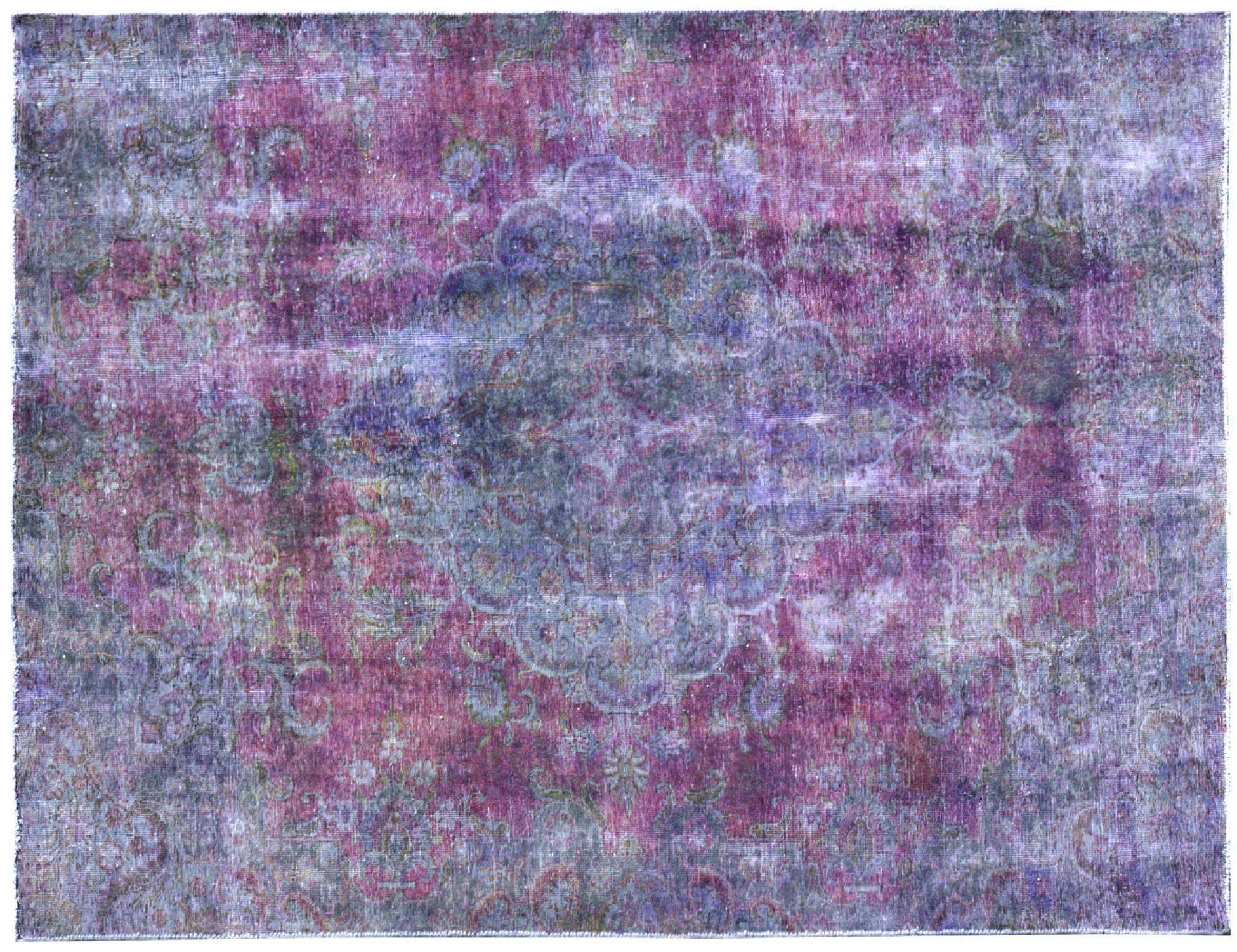 Tappeto Vintage  viola <br/>260 x 182 cm