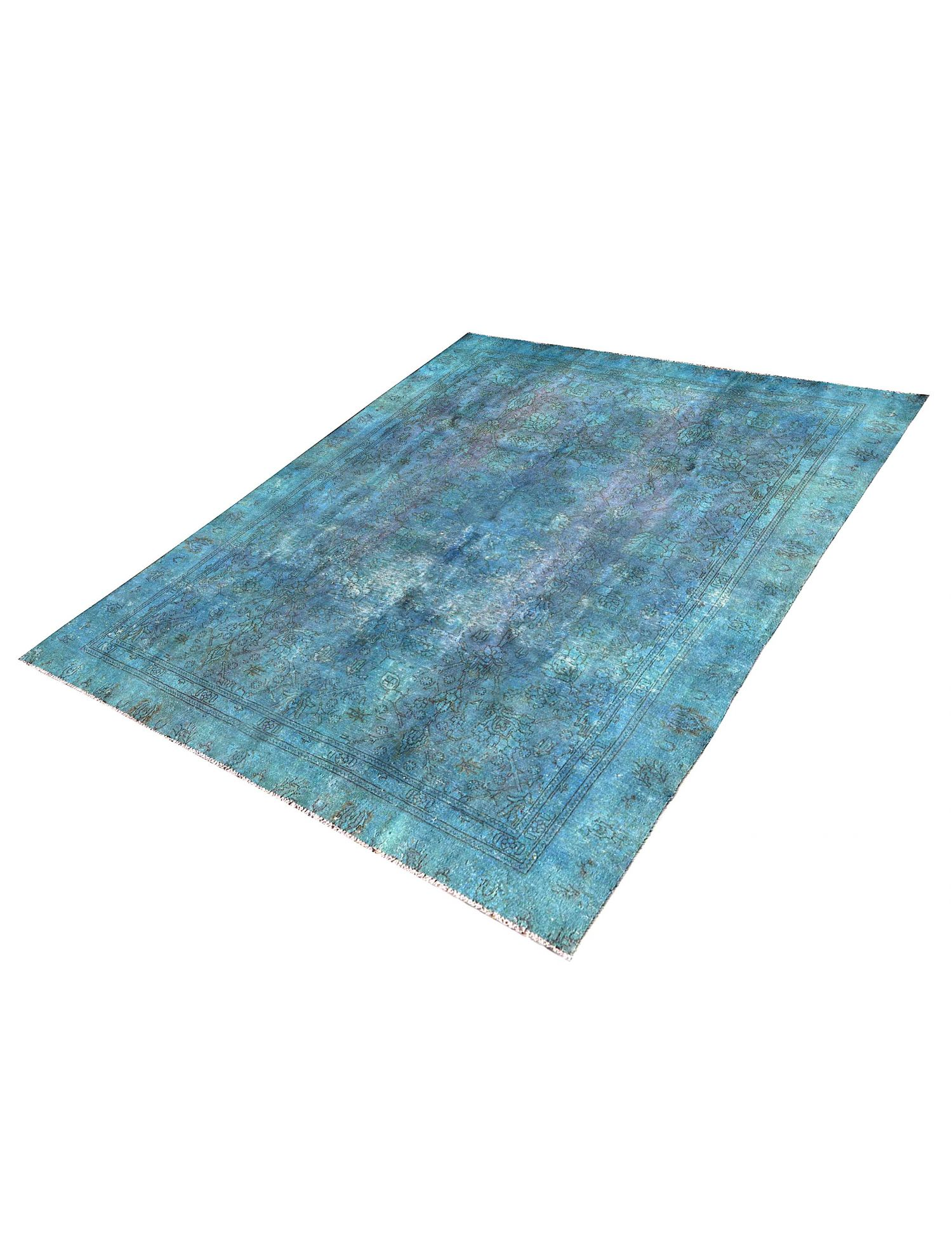 Vintage Teppich  blau <br/>300 x 224 cm