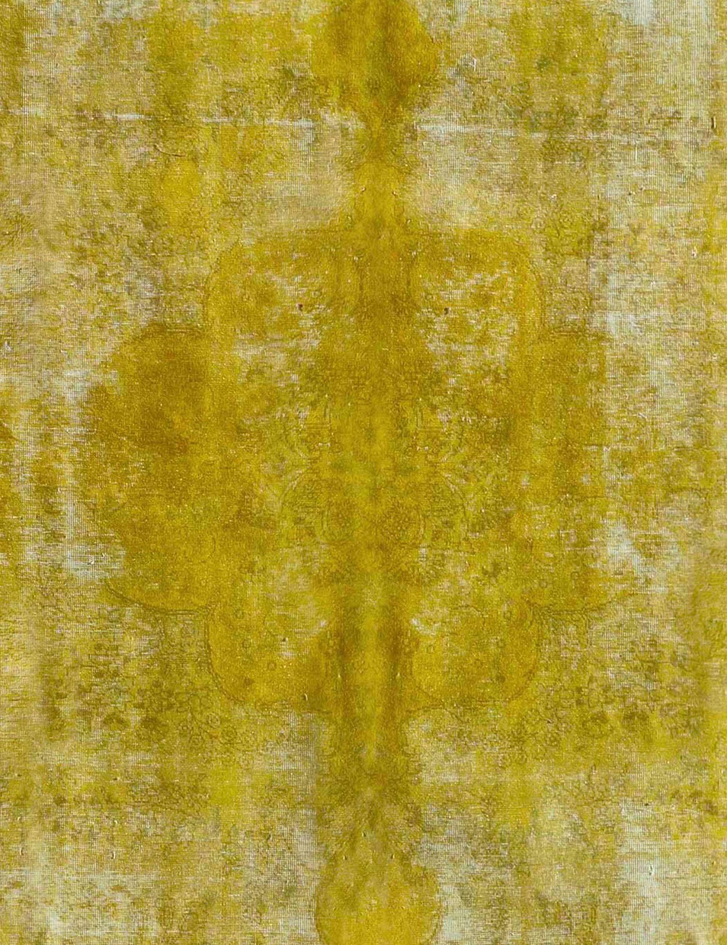 Vintage Teppich  gelb <br/>334 x 280 cm