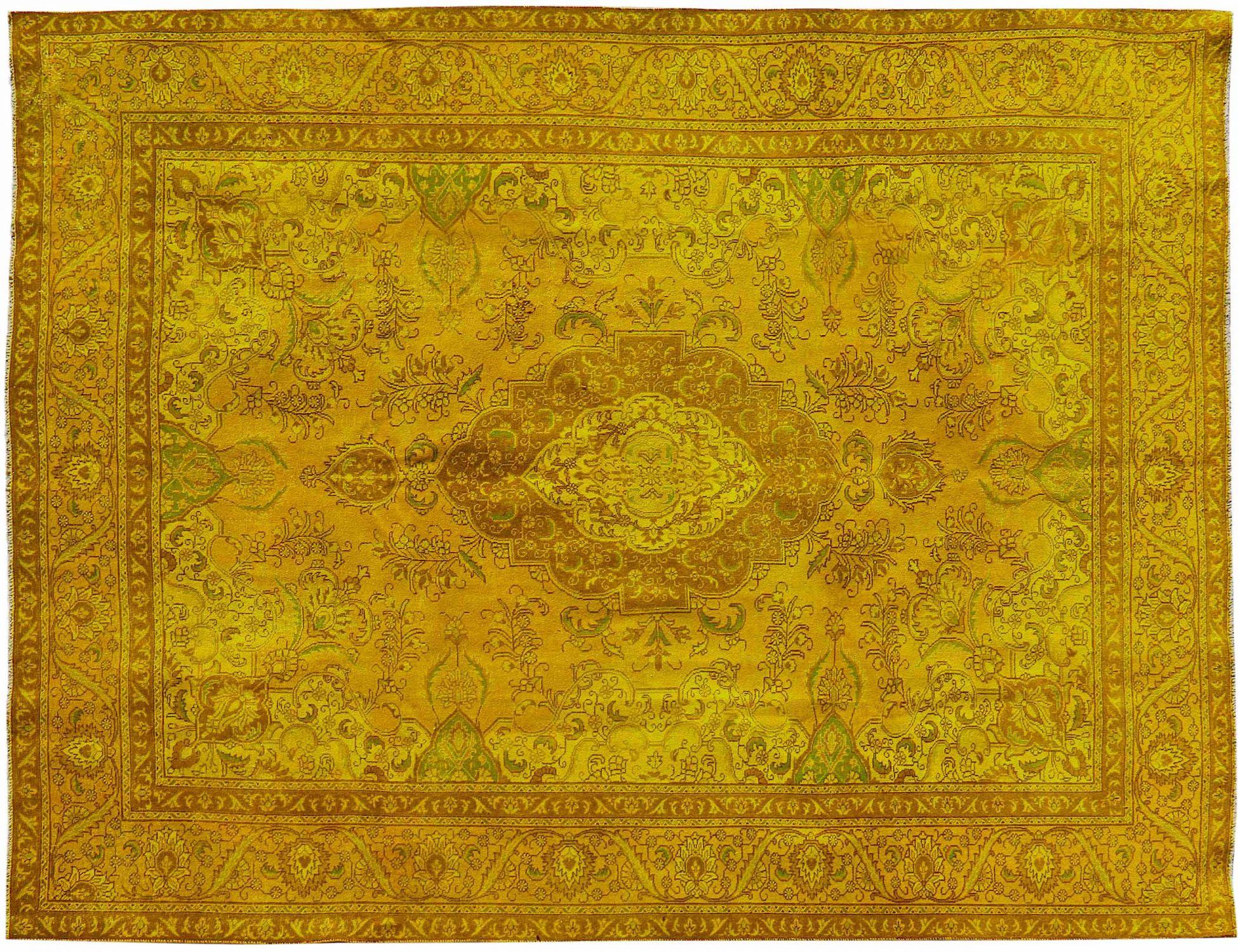 Vintage Teppich  gelb <br/>375 x 295 cm