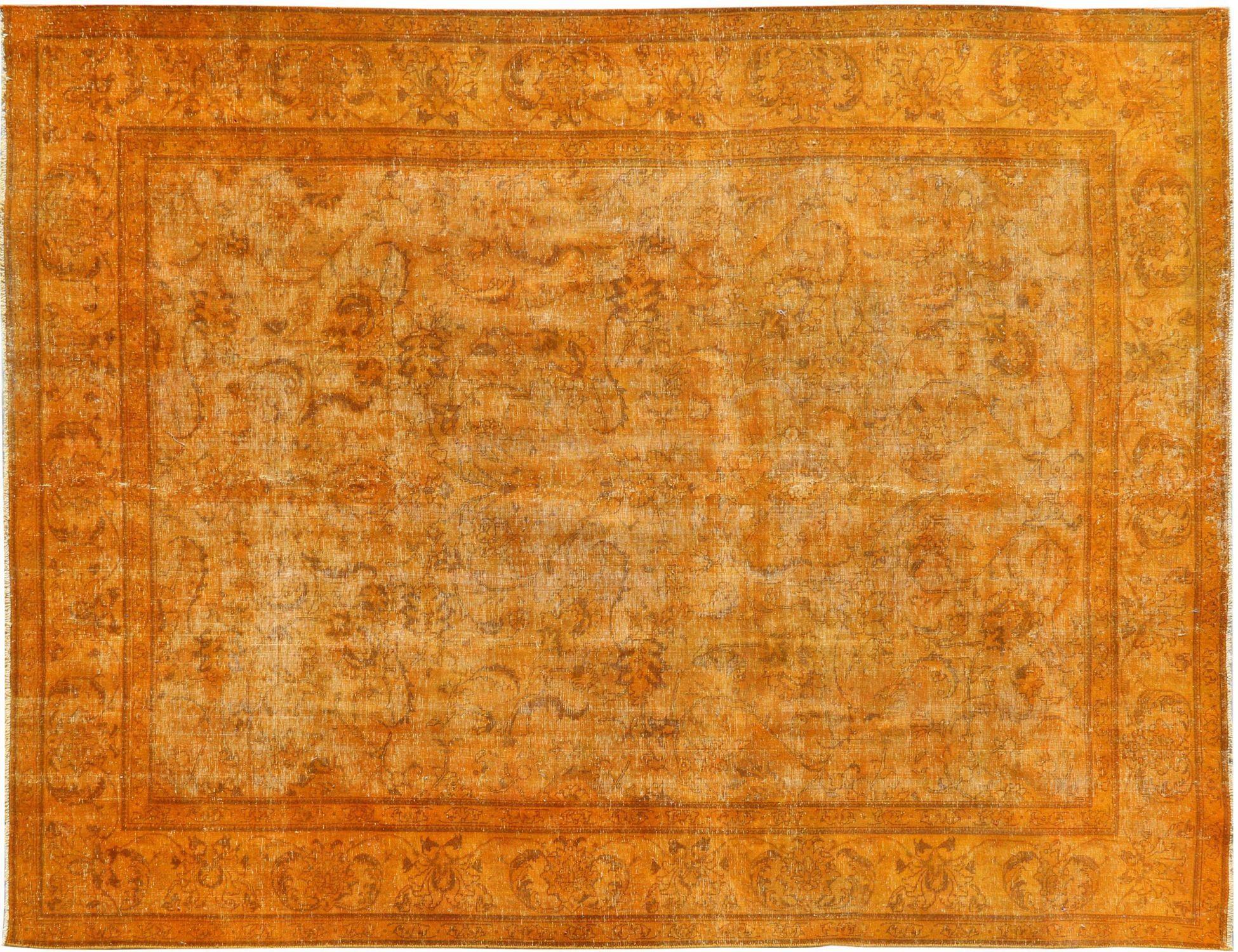 Tappeto Vintage  arancia <br/>378 x 275 cm