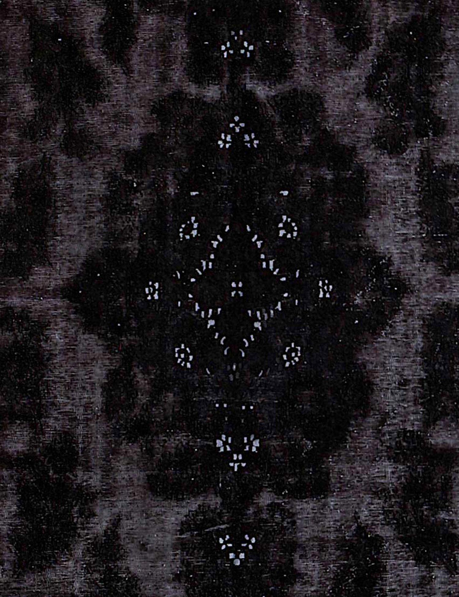 Vintage Perserteppich  schwarz <br/>385 x 295 cm