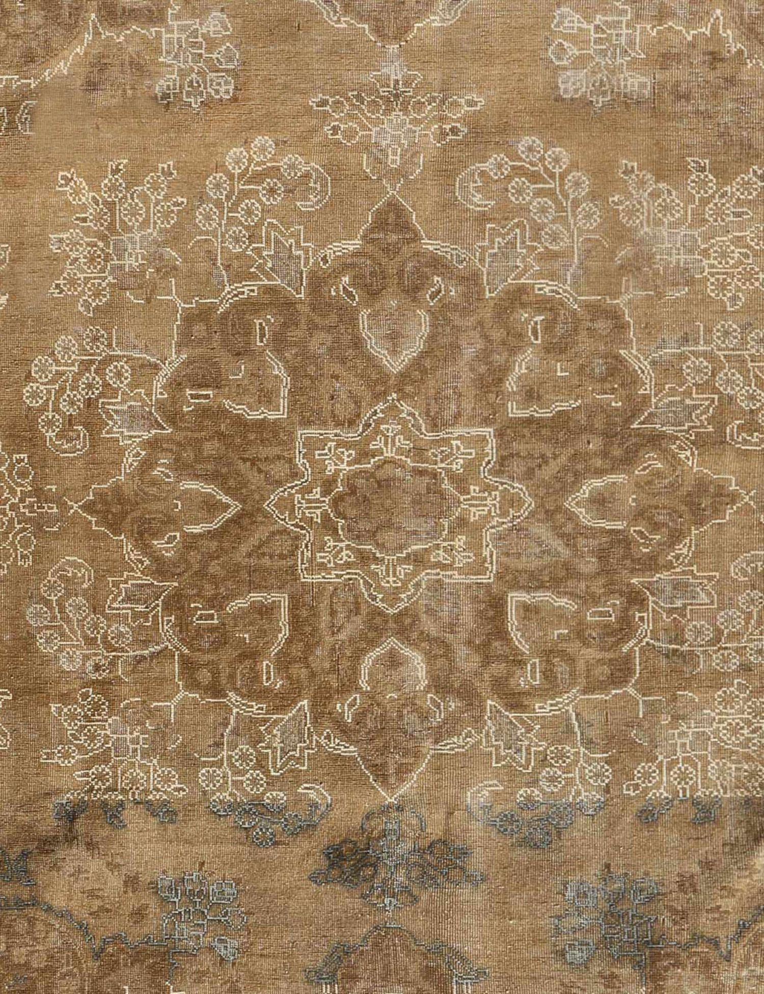 Retro Perserteppich  braun <br/>352 x 246 cm