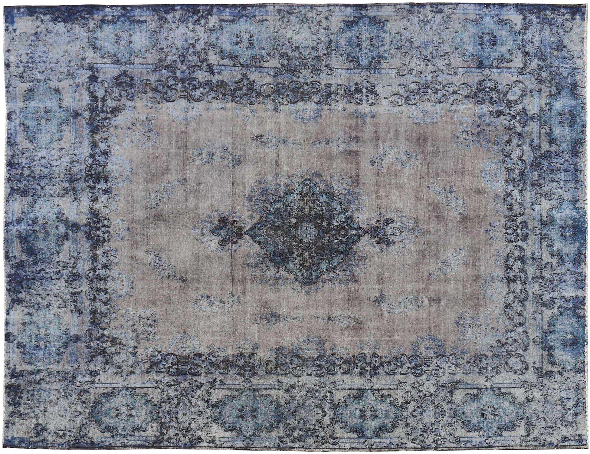 Vintage Perserteppich  blau <br/>382 x 298 cm
