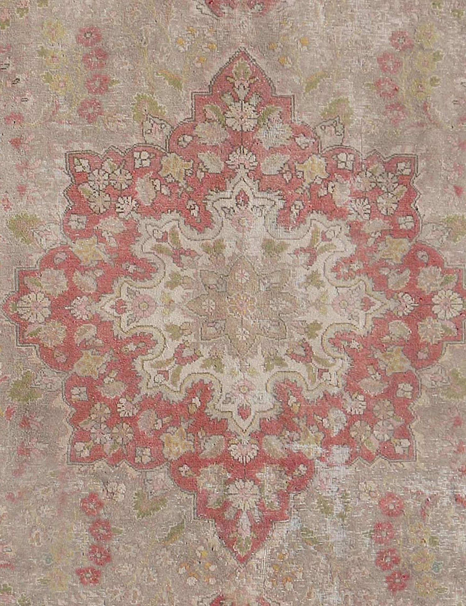 Retro Perserteppich  beige <br/>370 x 272 cm