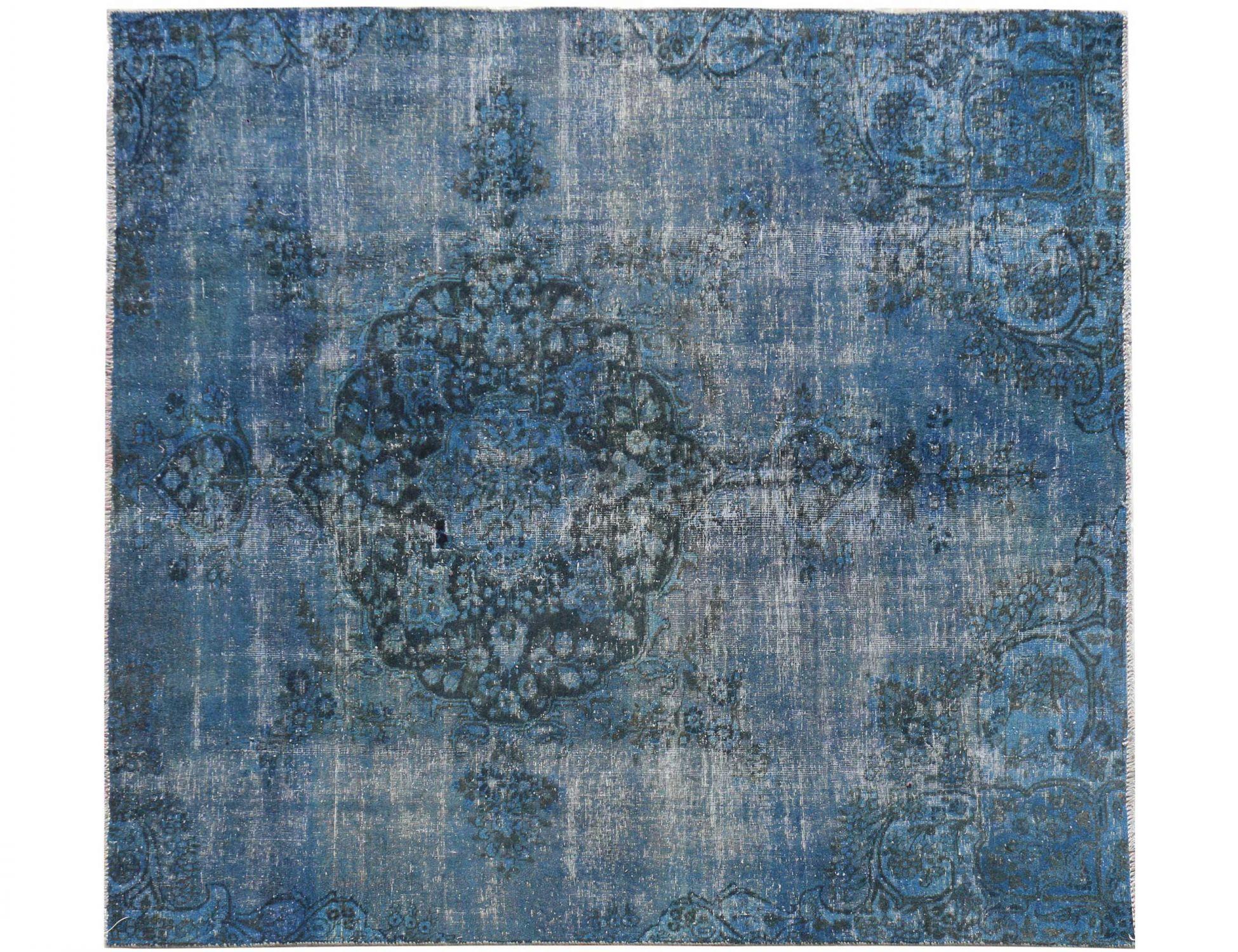 Vintage Perserteppich  blau <br/>251 x 218 cm