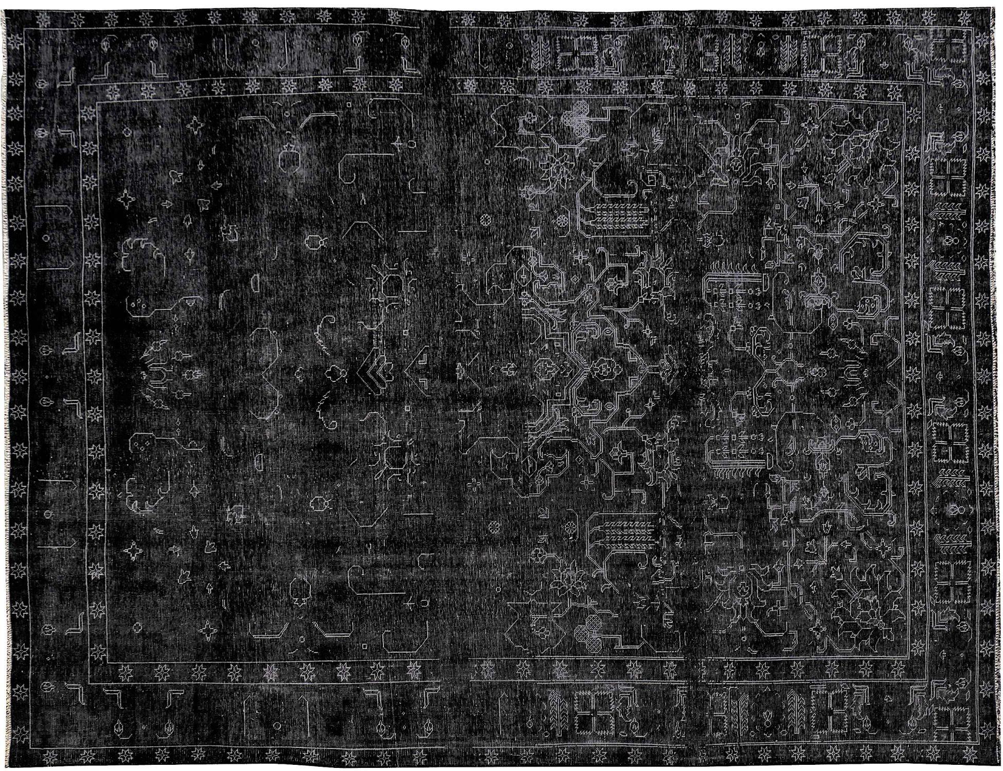 Tappeto Vintage  nero <br/>376 x 266 cm