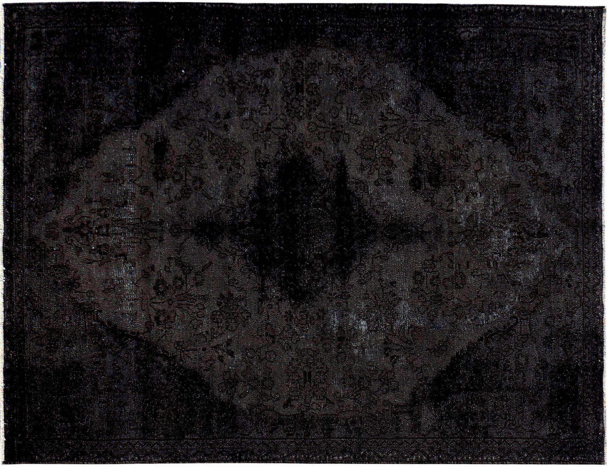 Vintage Perserteppich  schwarz <br/>255 x 160 cm