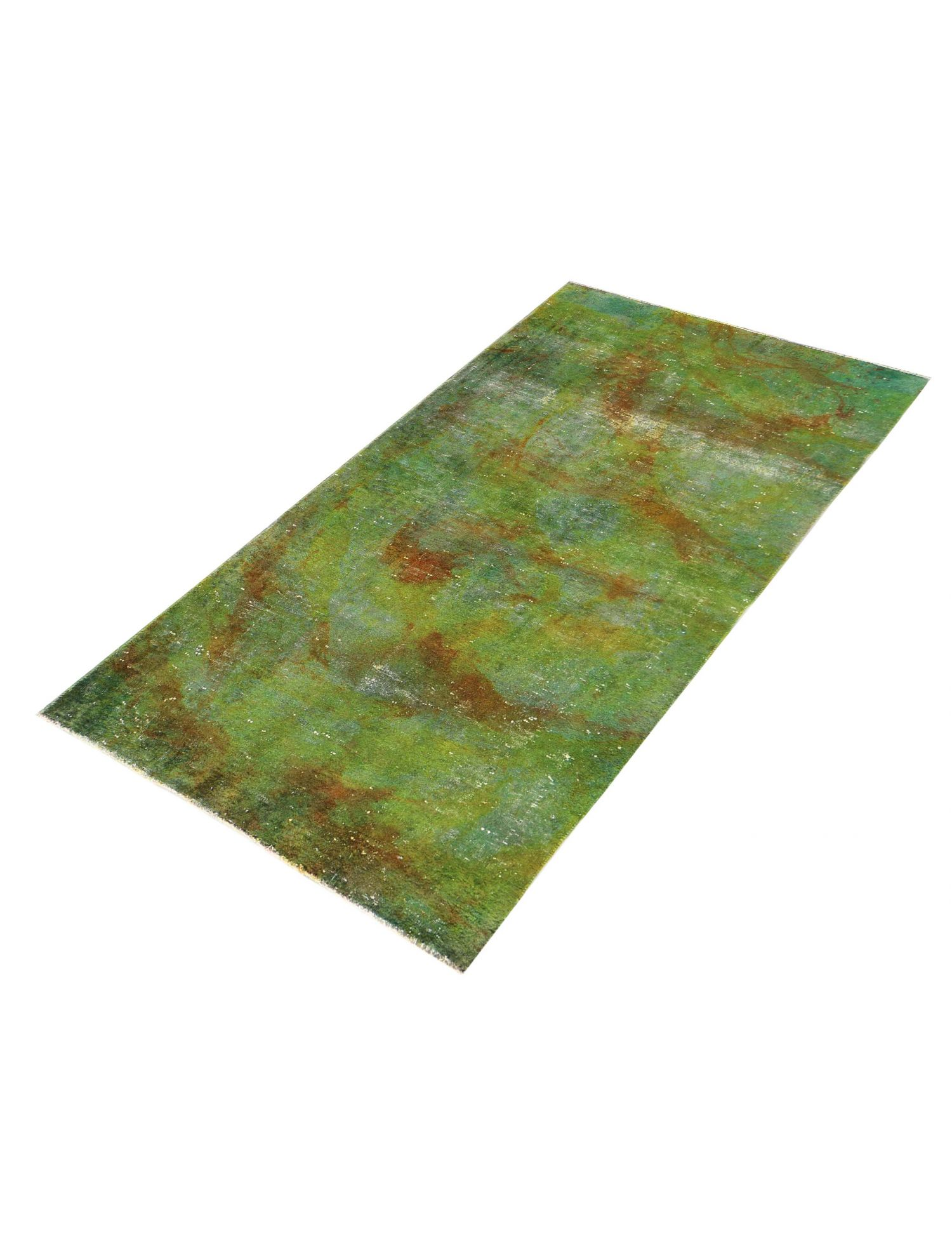 Vintage Perserteppich  grün <br/>267 x 140 cm