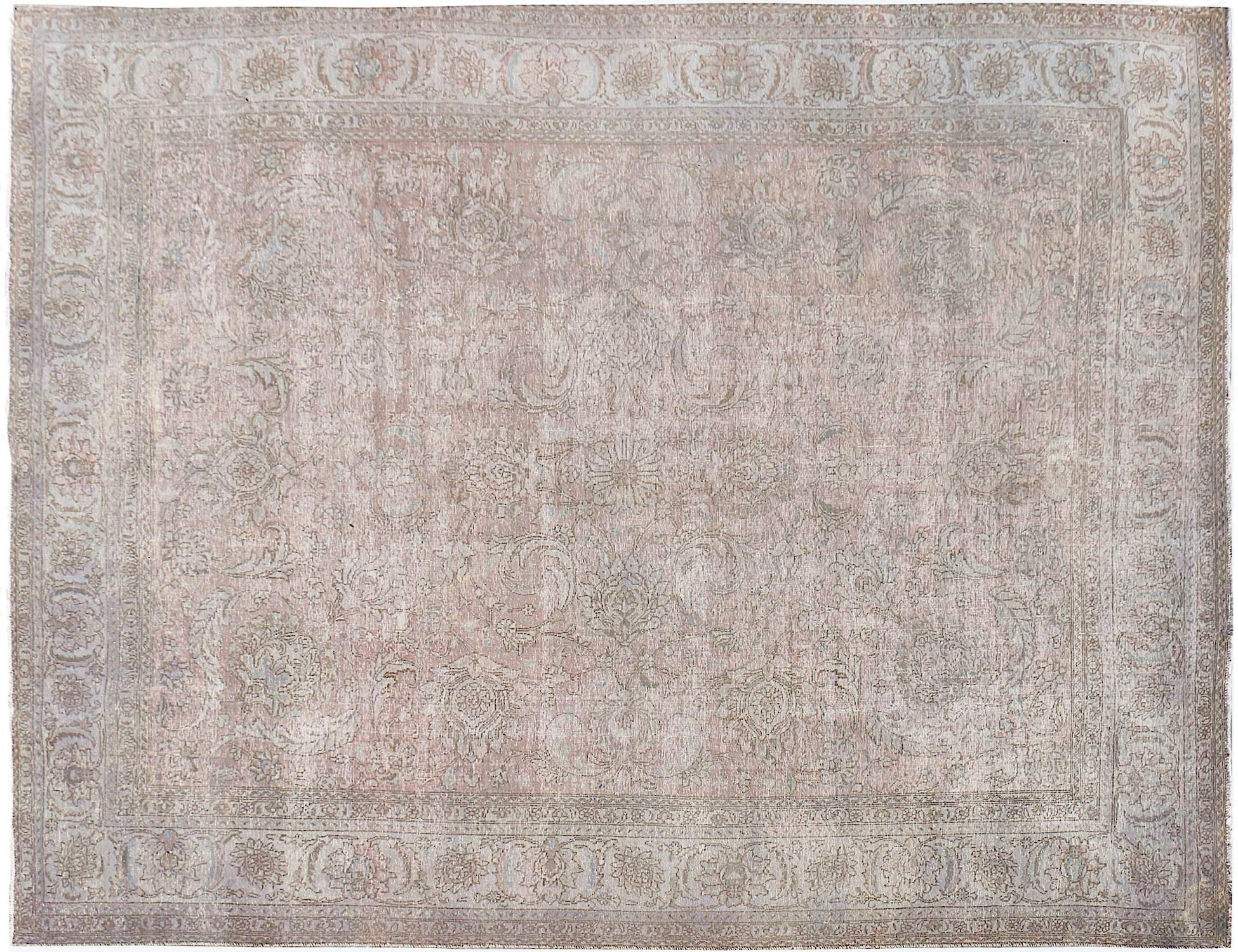 Vintage Perserteppich  grau <br/>397 x 286 cm