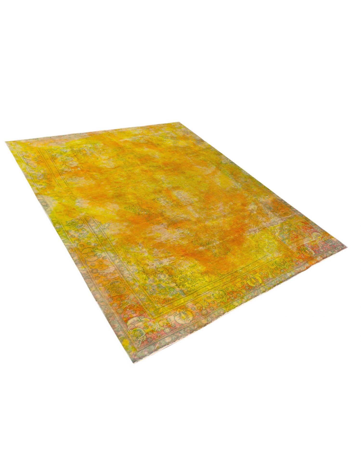 Vintage Perserteppich  gelb <br/>380 x 302 cm