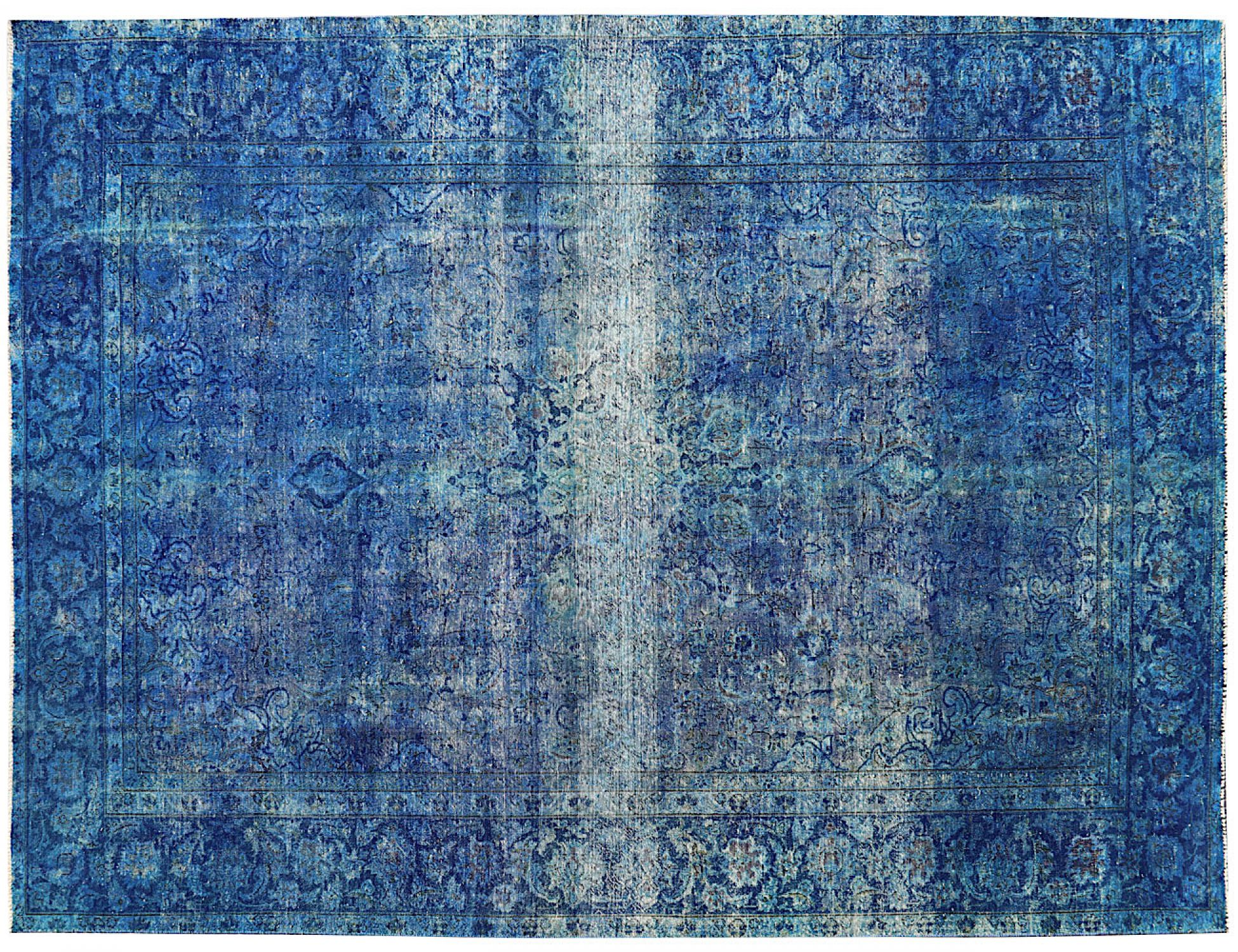 Tappeto Vintage  blu <br/>370 x 276 cm
