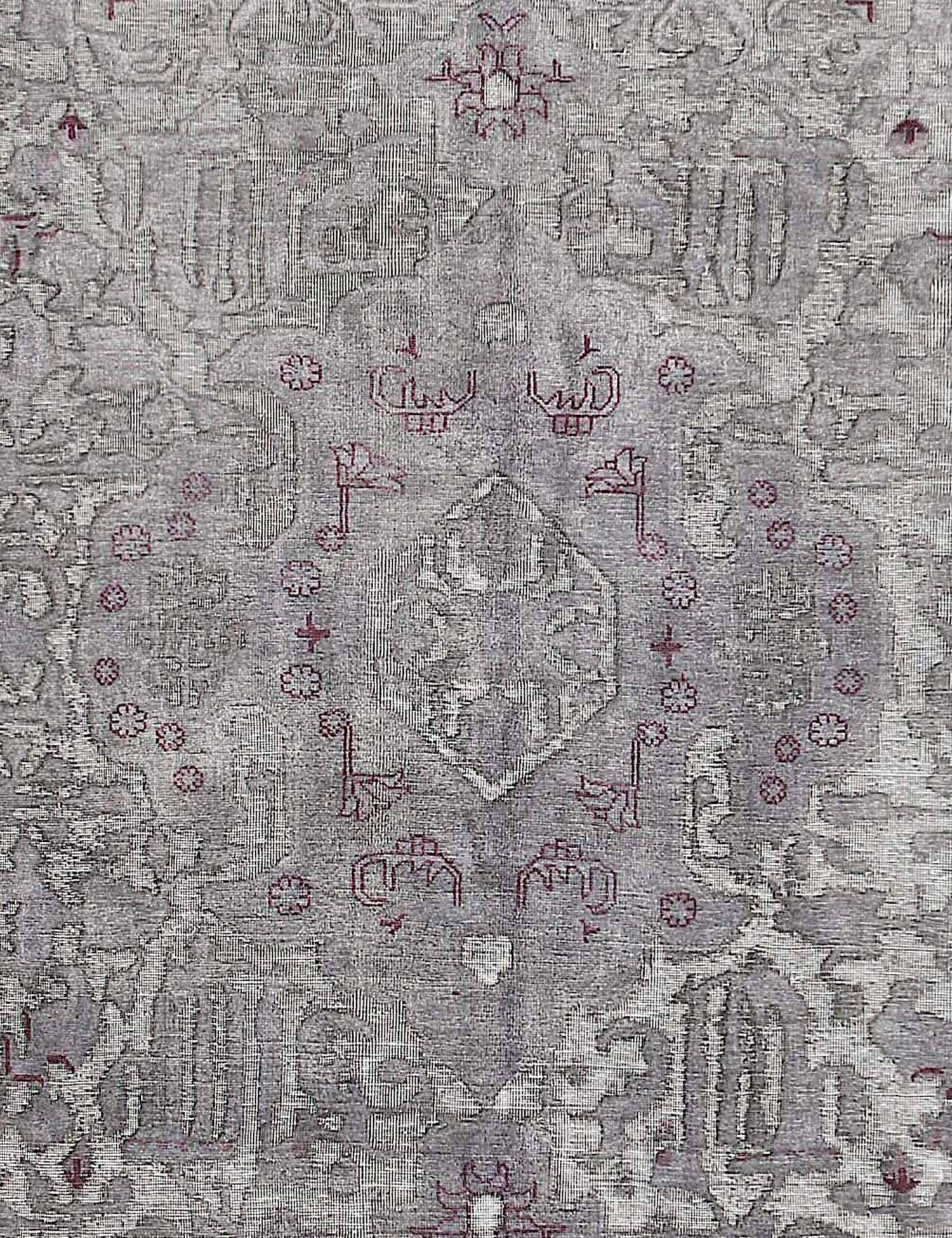 Tappeto Vintage  grigo <br/>385 x 292 cm