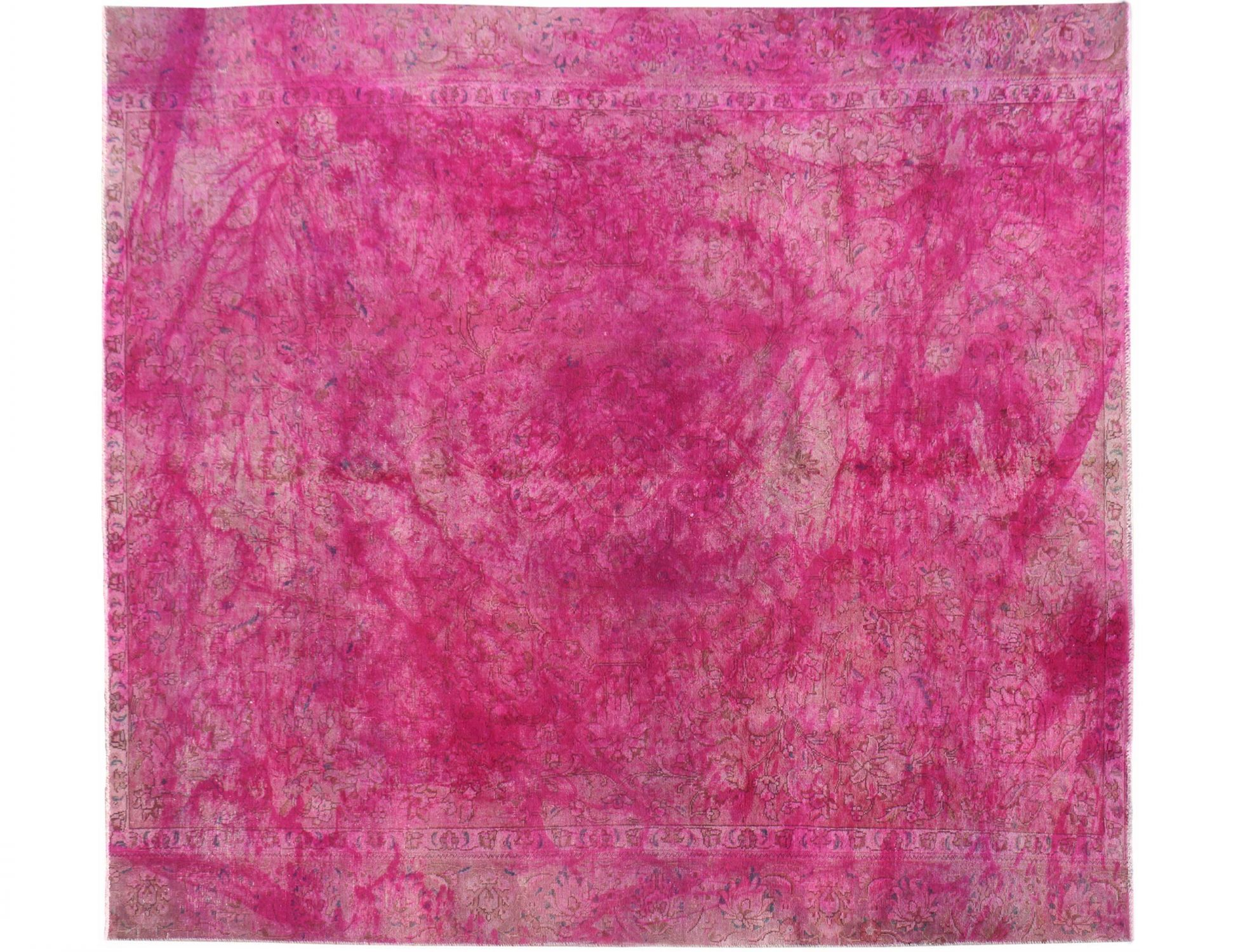 Vintage Perserteppich  rosa <br/>309 x 262 cm
