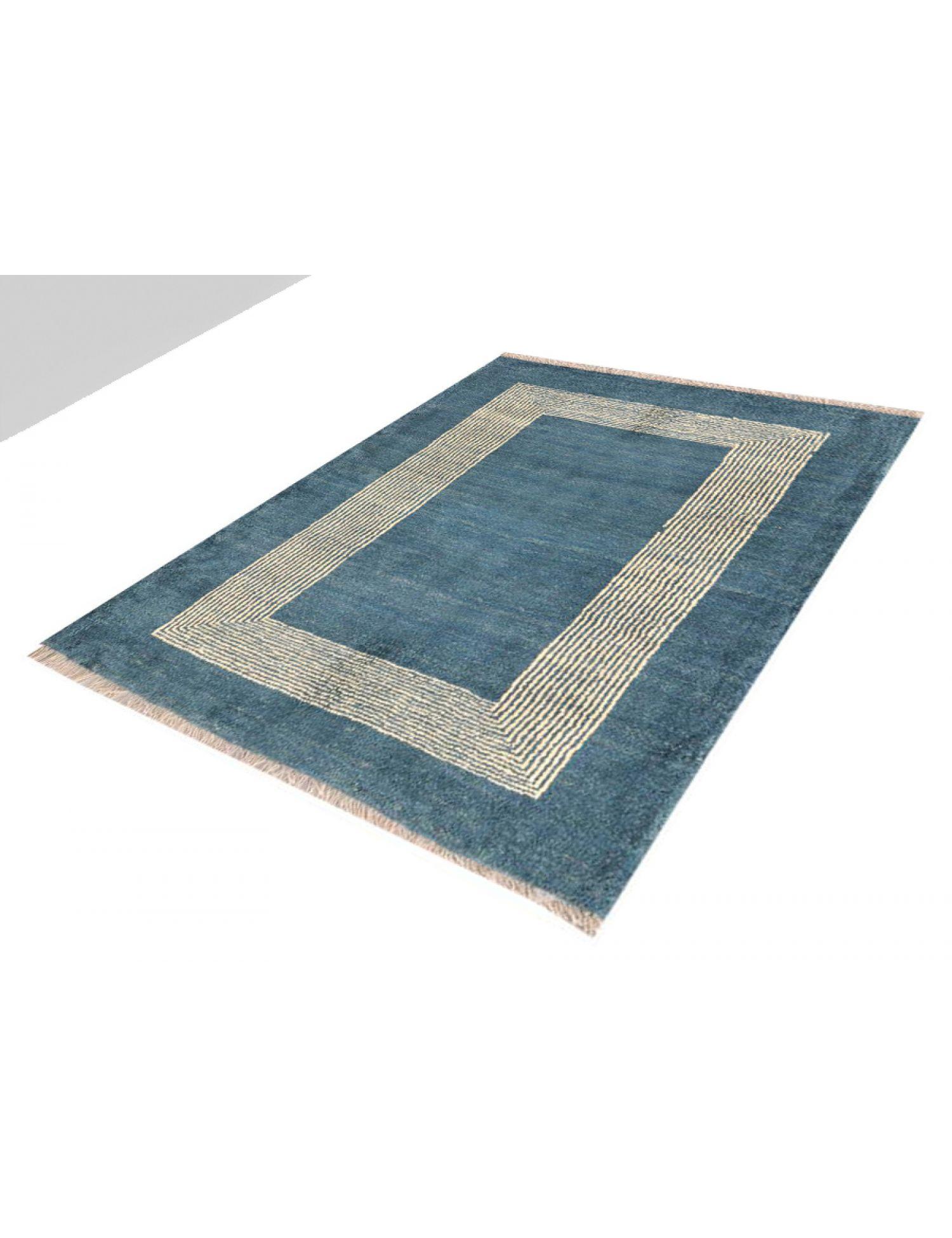 Moderne Teppiche  blau <br/>143 x 117 cm