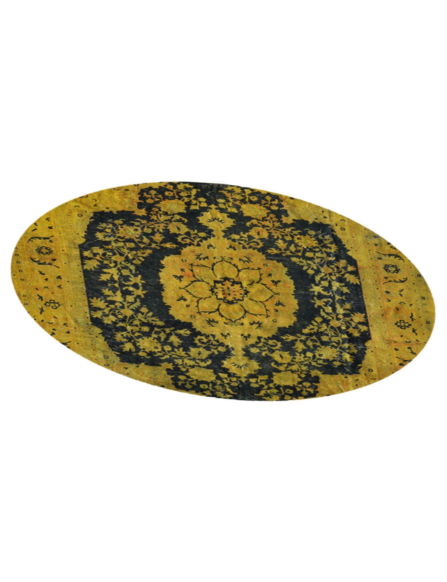 Tappeto Vintage  giallo <br/>263 x 263 cm