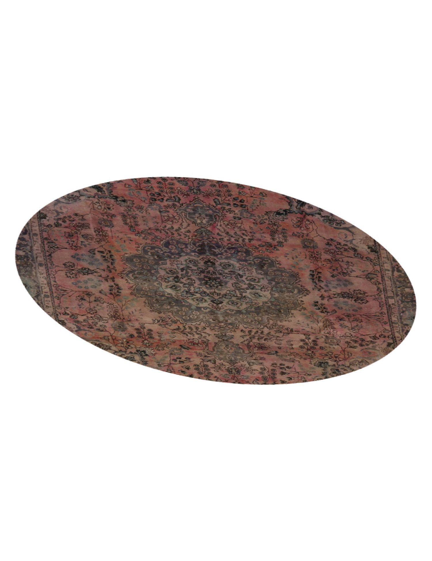 Tappeto Vintage  marrone <br/>259 x 259 cm