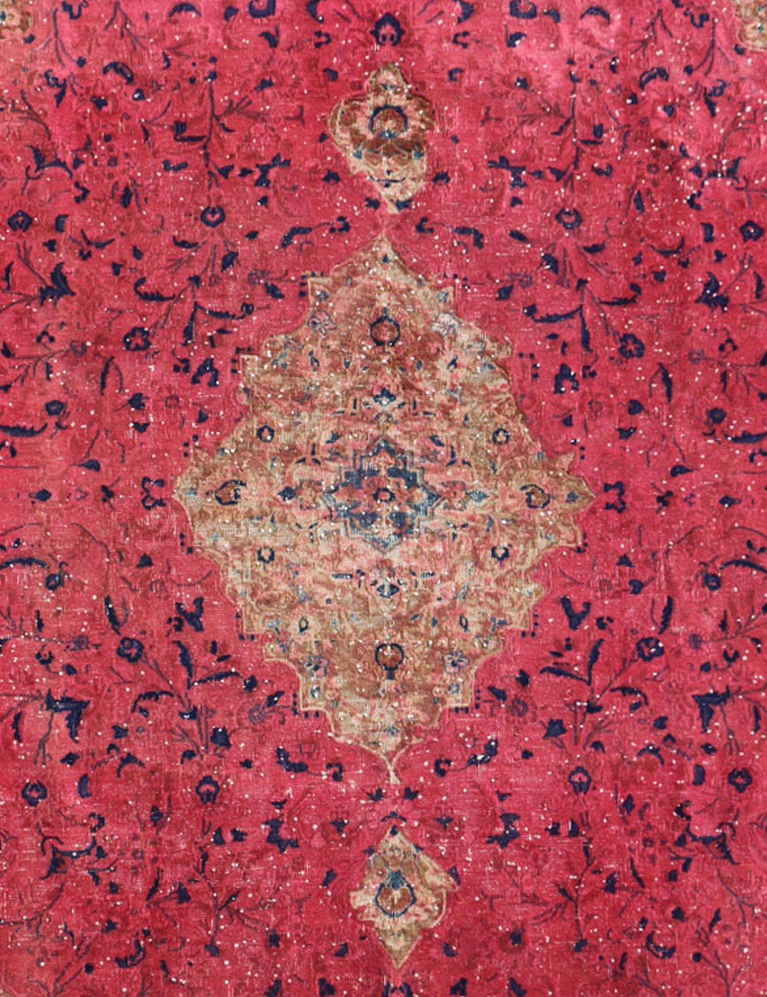 Tappeto Vintage  rosso <br/>250 x 250 cm
