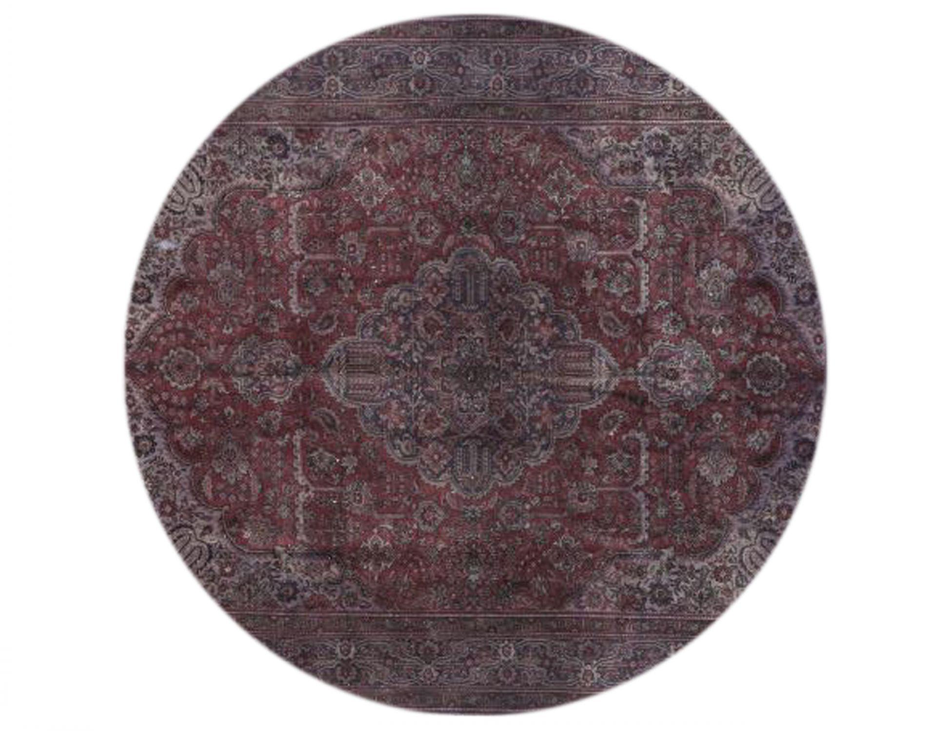 Tappeto Vintage  marrone <br/>250 x 250 cm