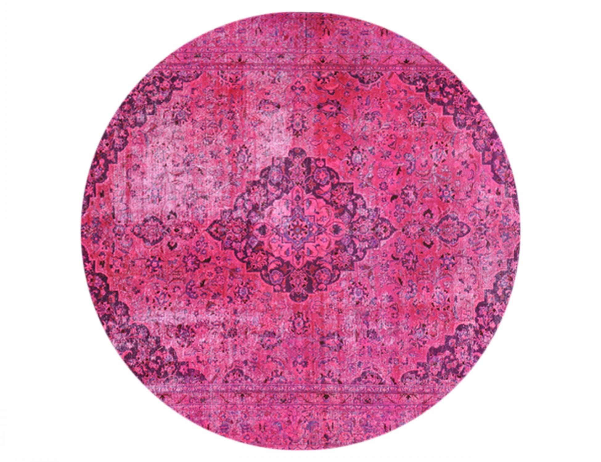 Tappeto Vintage  rosa <br/>267 x 267 cm