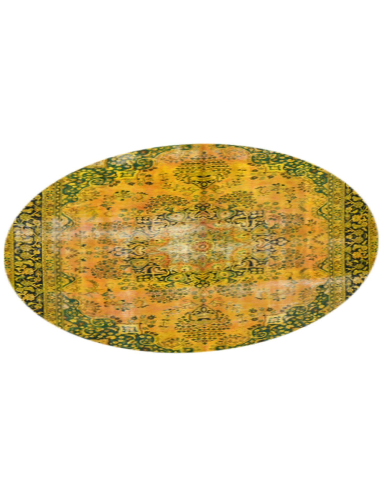 Tappeto Vintage  giallo <br/>288 x 288 cm