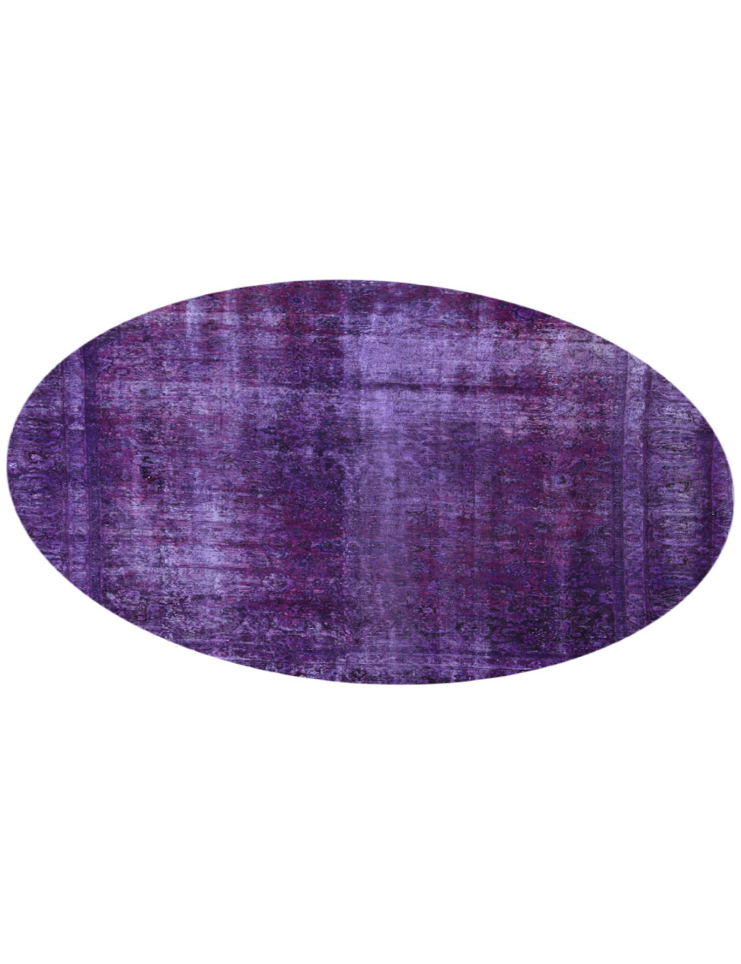 Tappeto Vintage  viola <br/>264 x 264 cm