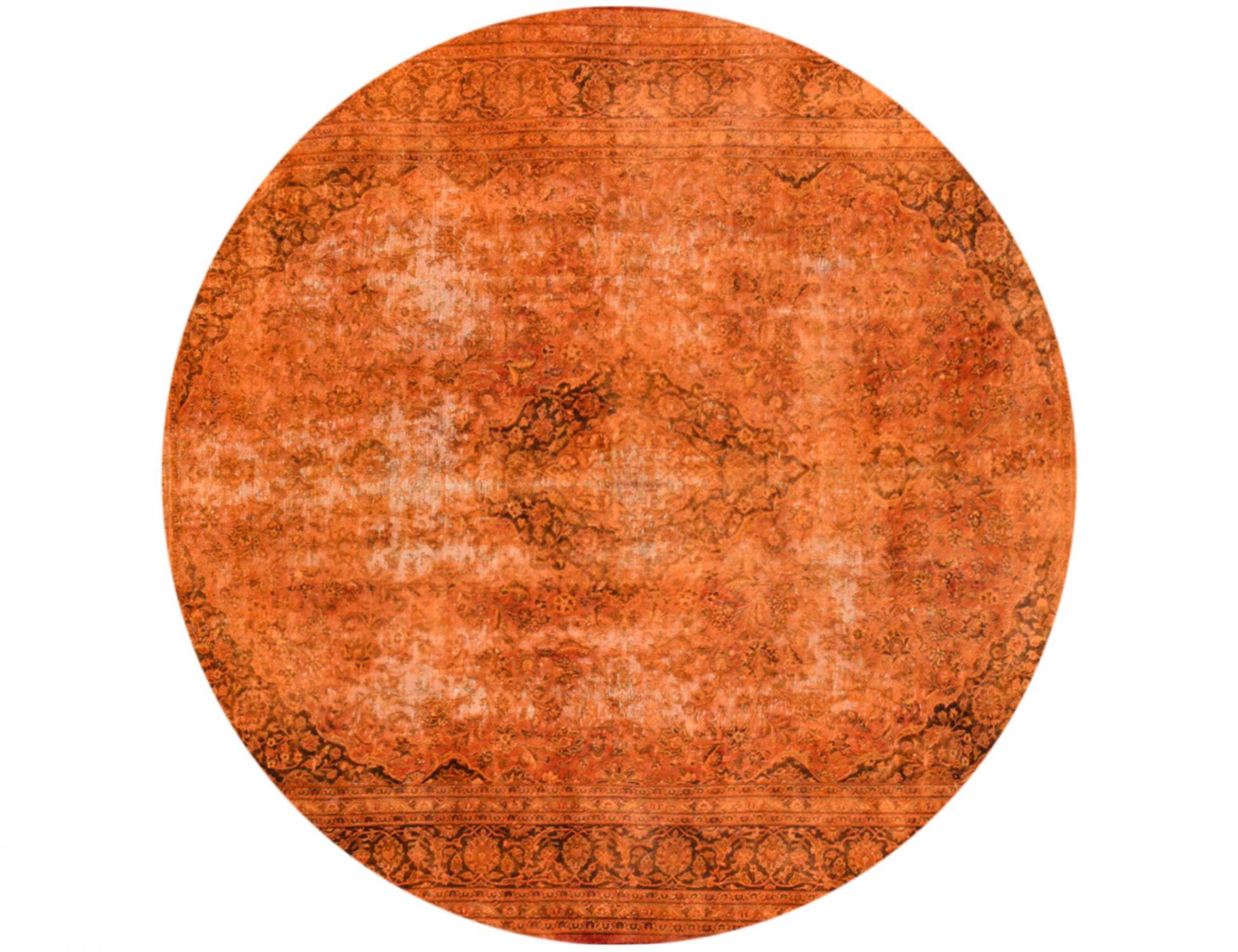 Tappeto Vintage  arancia <br/>290 x 290 cm