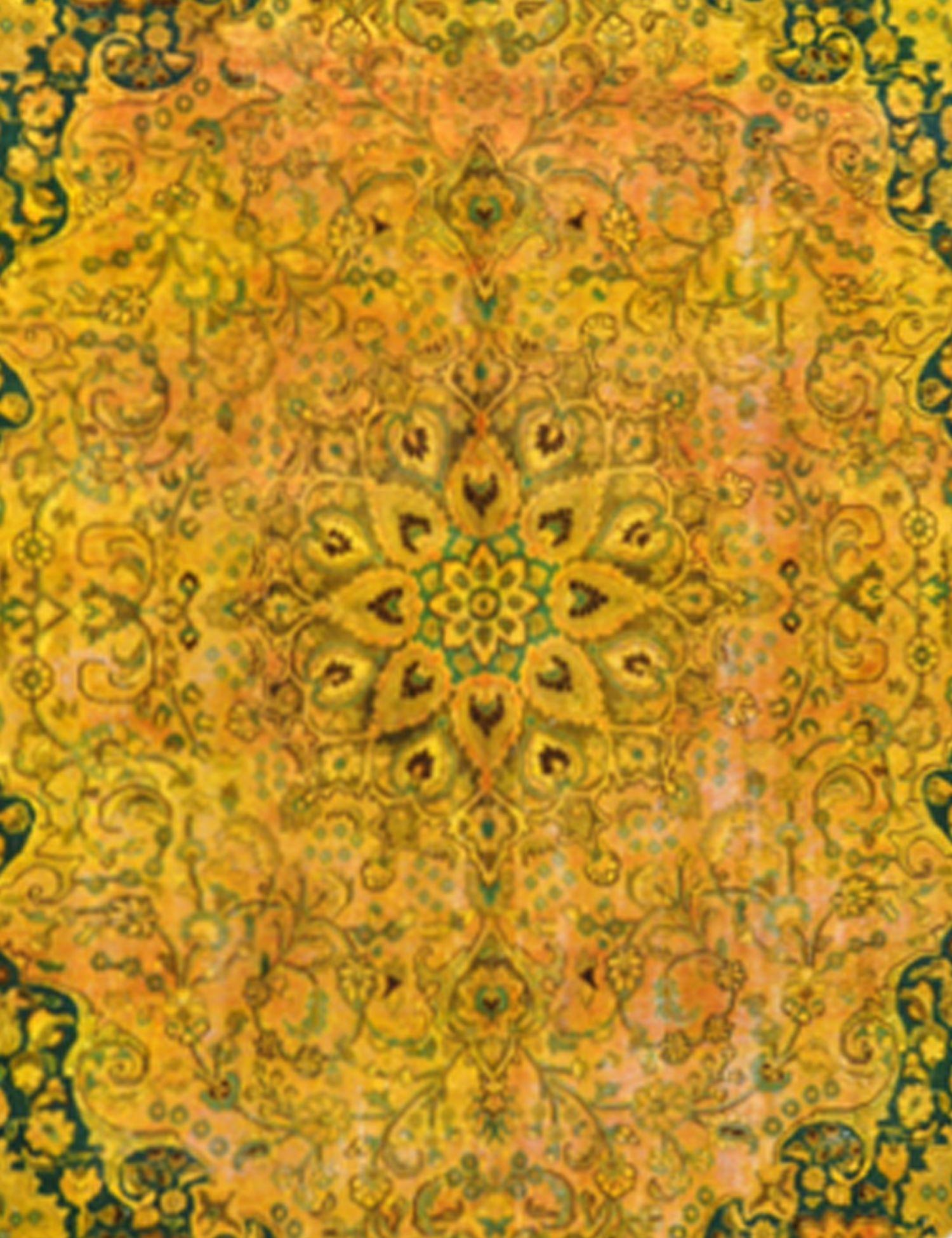 Tappeto Vintage  giallo <br/>286 x 286 cm